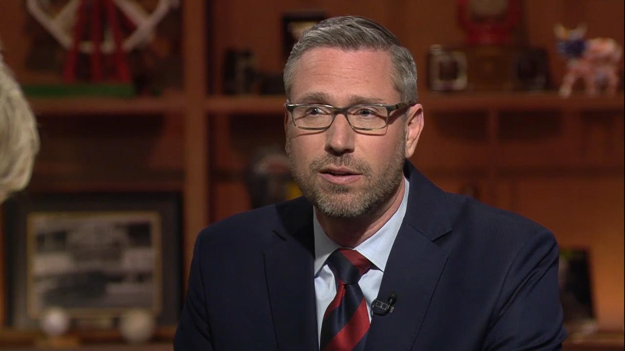 "Illinois State Treasurer Michael Frerichs appears on ""Chicago Tonight"" on April 30, 2018."