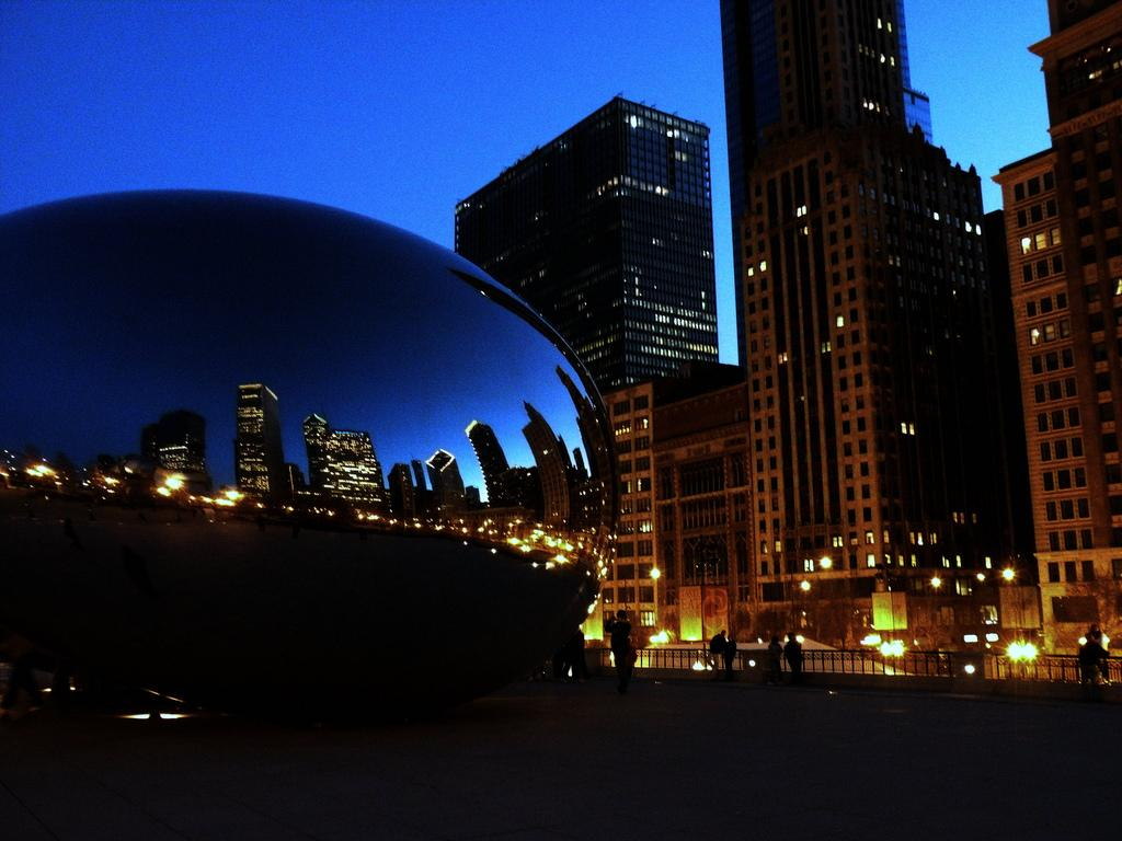 Summer evenings at Millennium Park include free movies on Tuesdays starting June 13. (John W. Iwanski / Flickr)