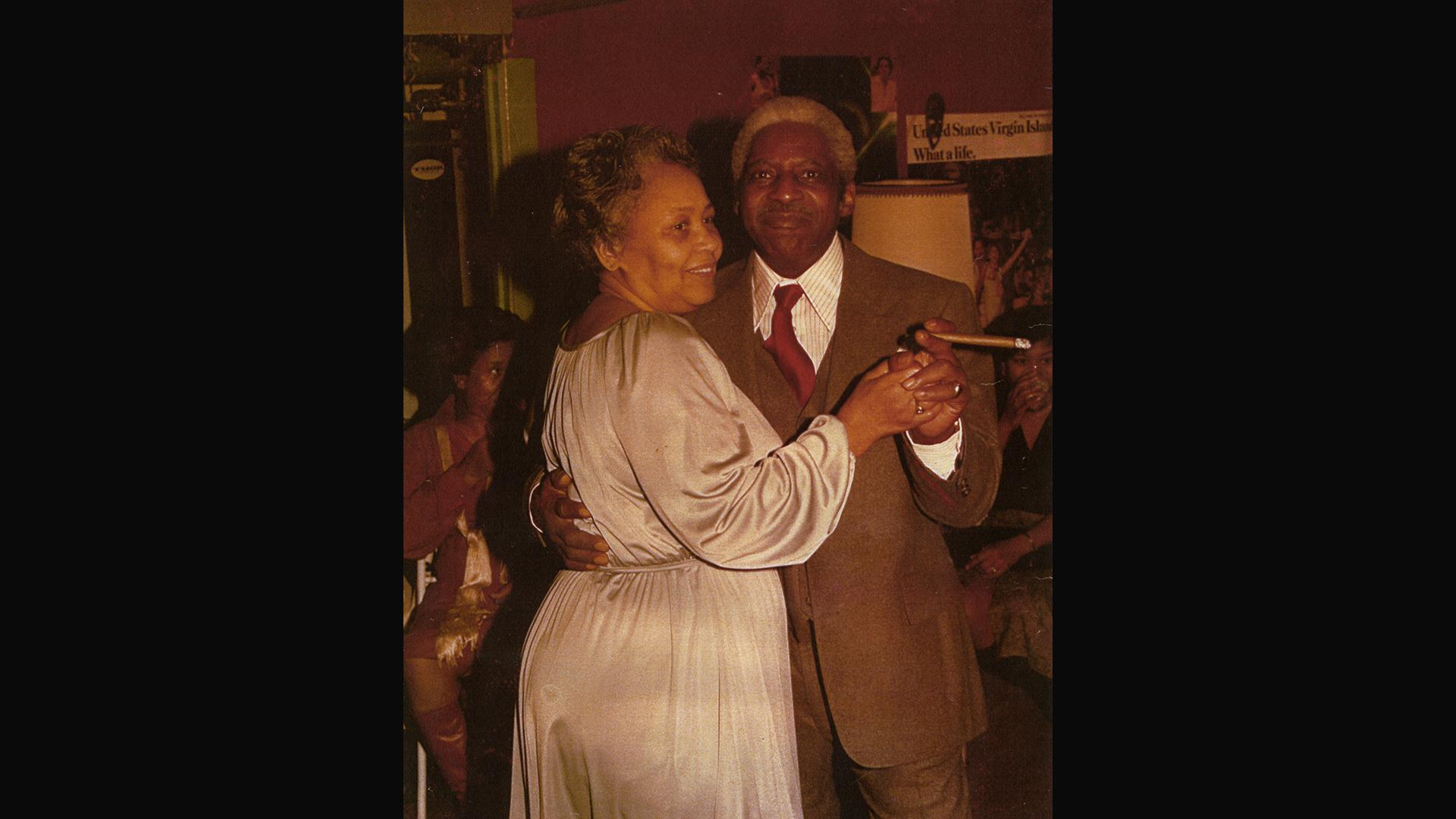 Harriette Moody's late parents, Paul and Louise Buford, at their 45th wedding anniversary. (Courtesy Harriette Moody)