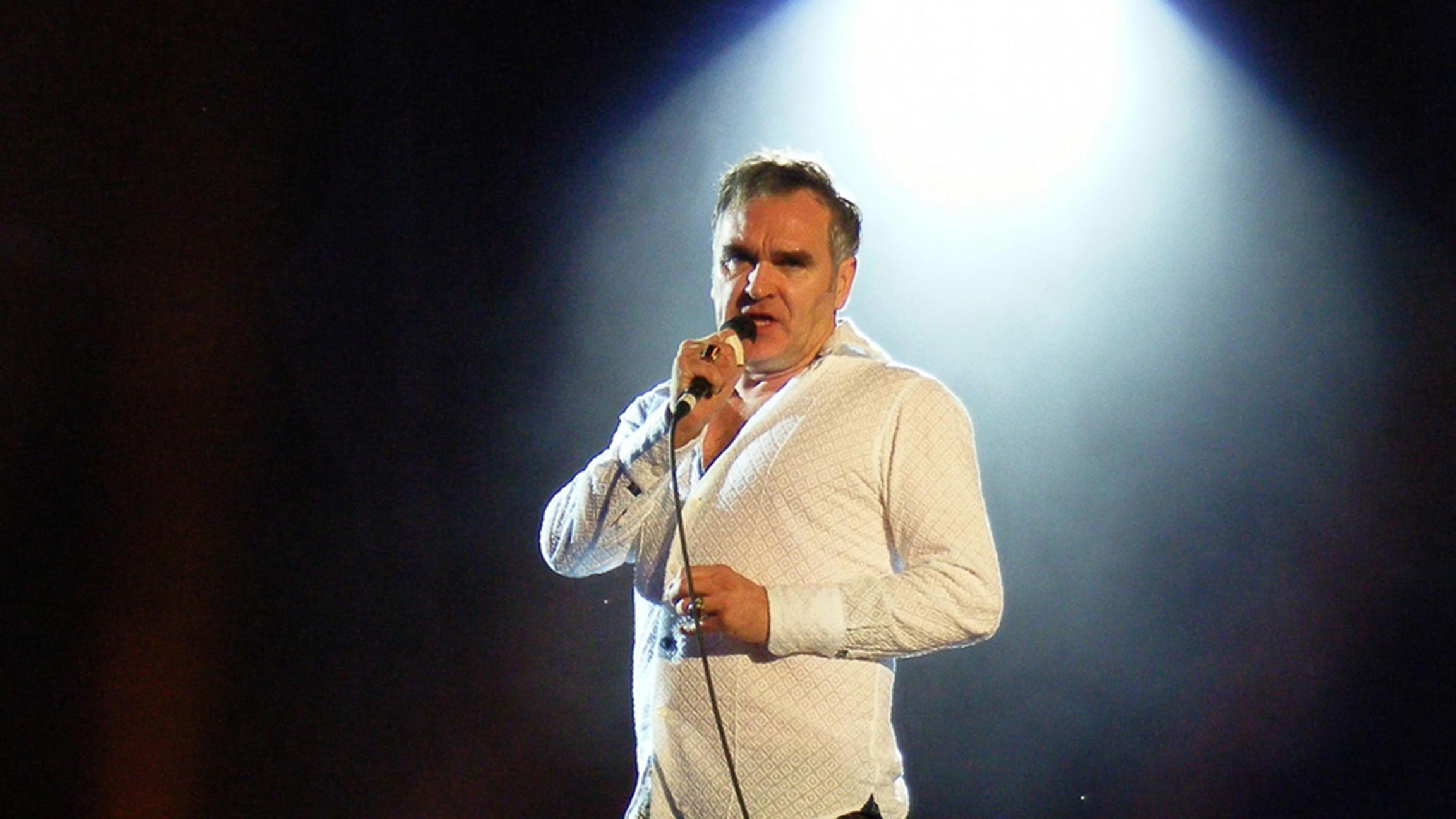 This charming man: Morrissey is scheduled to appear at Riot Fest on Saturday night. (Man Alive! / Flickr)