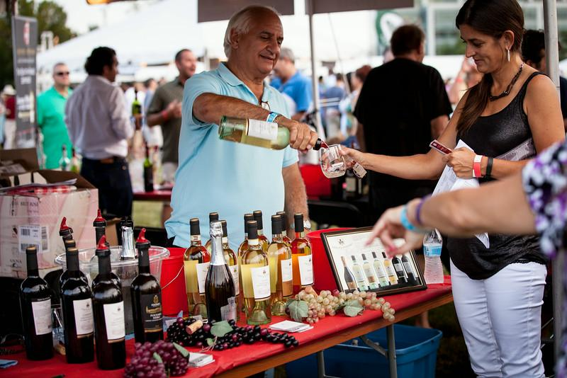 Celebrate the grape in Naperville this weekend. (Courtesy Naperville Wine Festival)