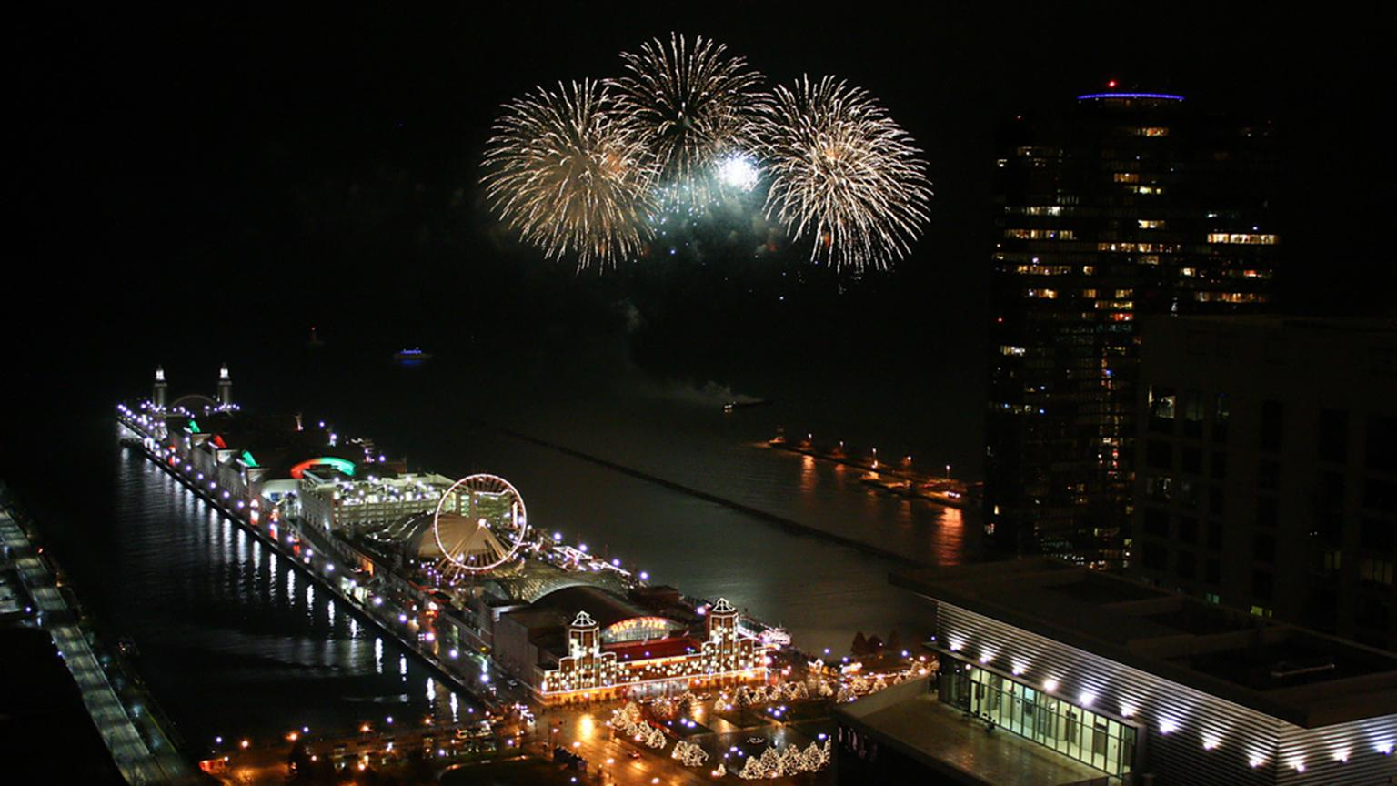 10 Ways To Celebrate New Year S Eve In Chicago 2018
