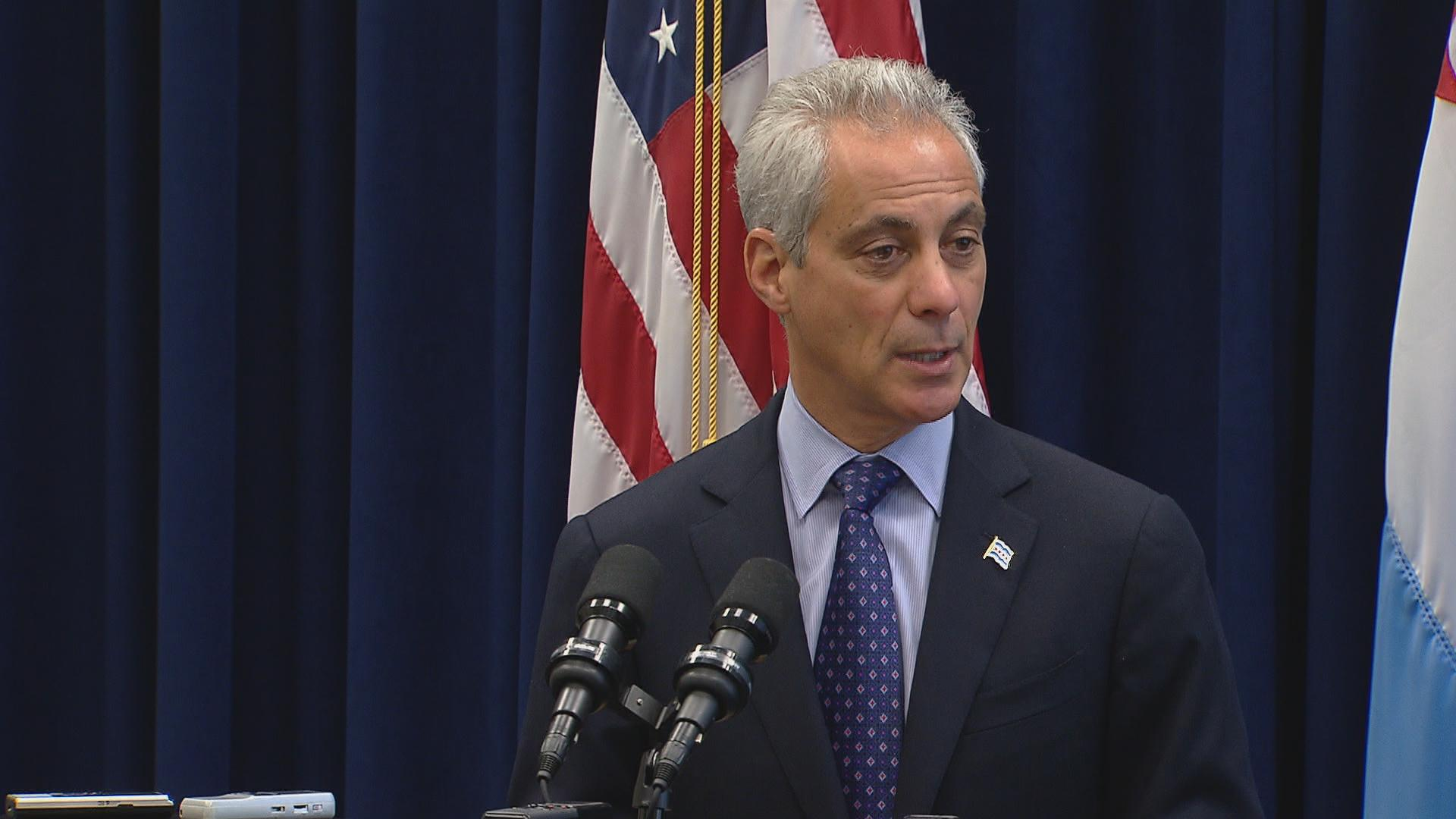 "Mayor Rahm Emanuel: ""This has been a request of the transgender community and we're going to make the changes to reflect our values, and to make sure there is no discrimination in the city of Chicago."""