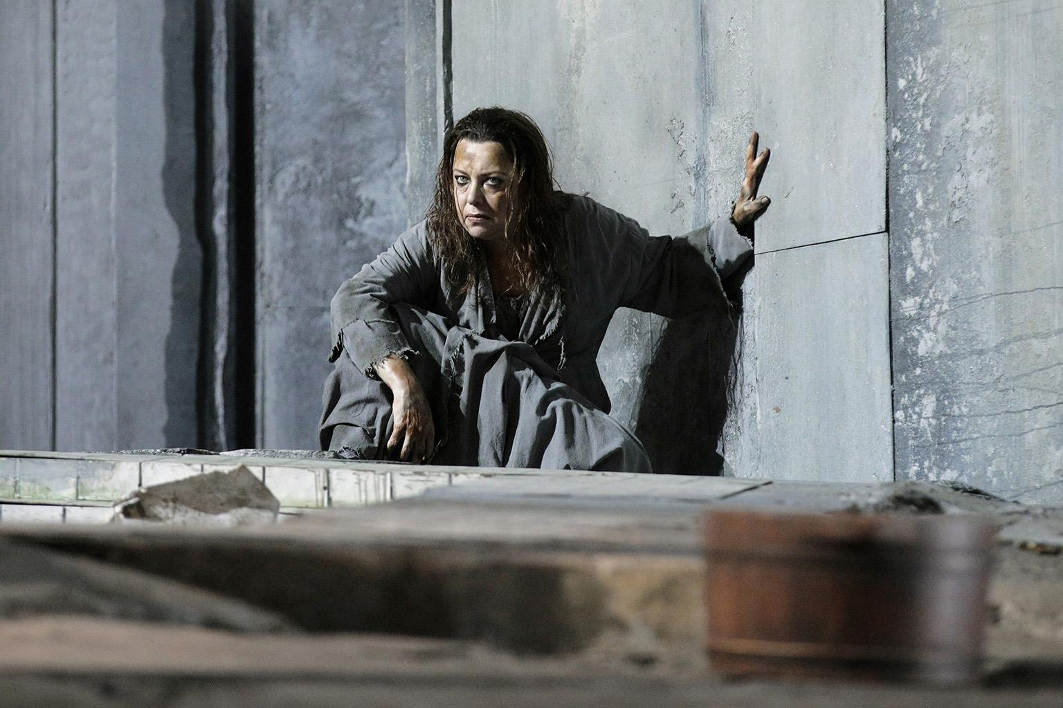 "Nina Stemme in Lyric Opera's production of ""Elektra."" (Credit: Cory Weaver)"