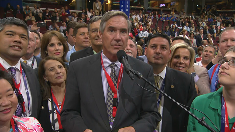 On Tuesday, the Illinois delegation officially cast their ballots for Donald Trump.
