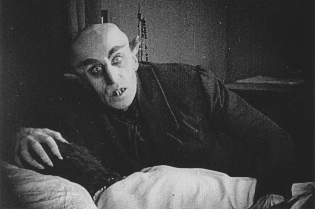"A fearsome face: Max Schreck plays the role of Count Orlok in ""Nosferatu."" (FICG.mx / Flickr)"