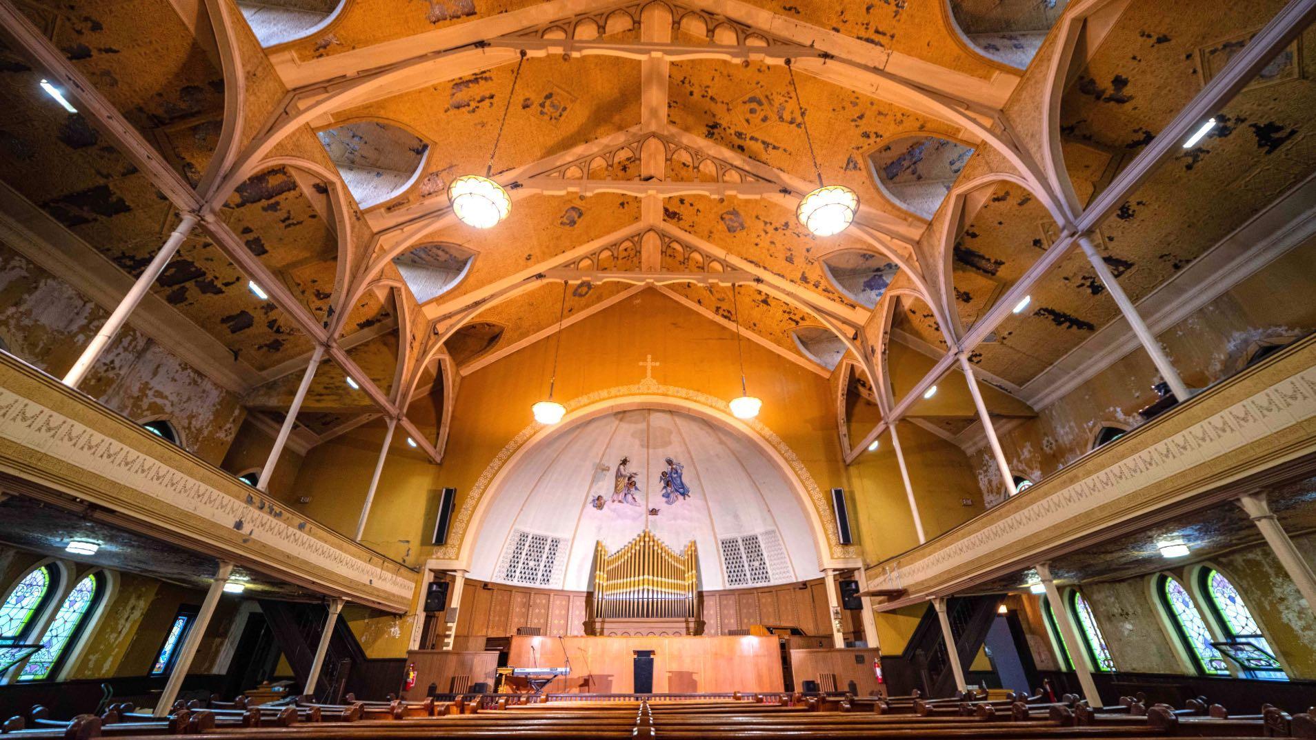 Quinn Chapel.  (Chicago Architecture Center / Anna Munzesheimer)