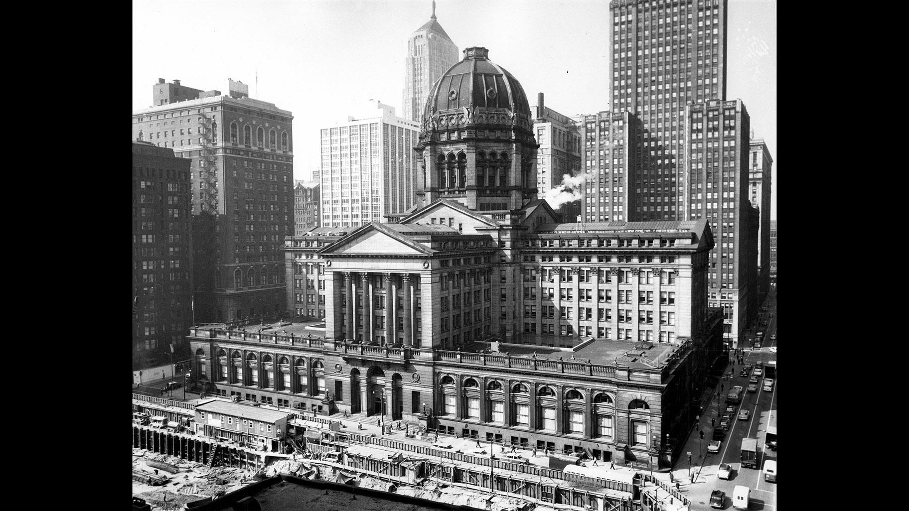 Chicago's original Federal Building.