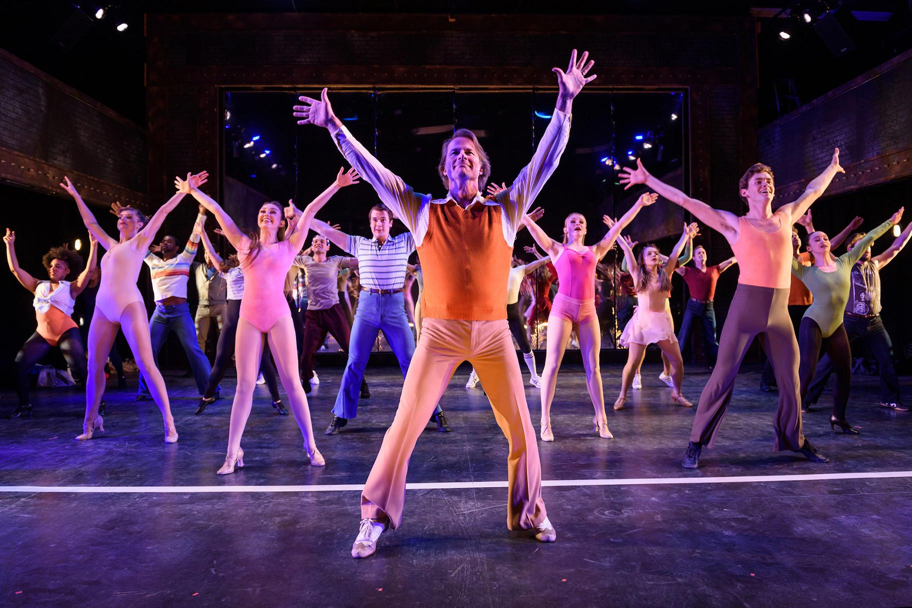 "The cast of ""A Chorus Line."" (Credit: Michael Courier)"