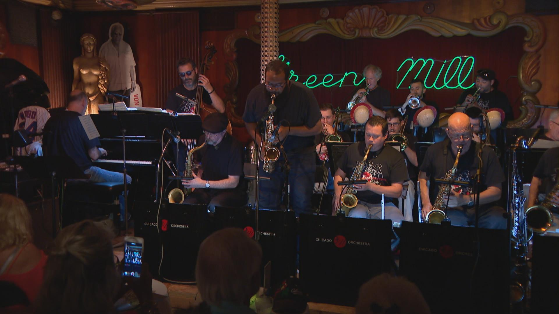 The Chicago Jazz Orchestra at the Green Mill.