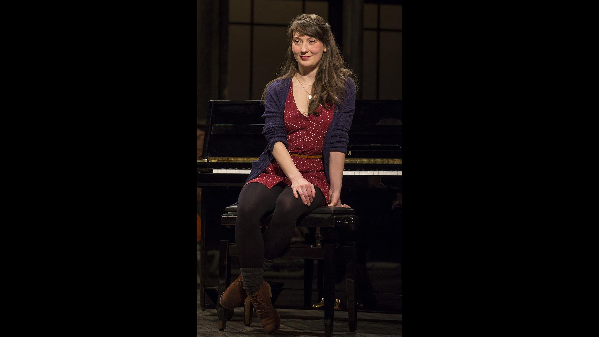 "Tiffany Topol in ""Once."" (Photo credit: Liz Lauren)"