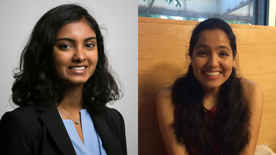 Pavan co-founders Shaili Datta, left, and Preethi Raju (Courtesy Shaili Datta and Preethi Raju)