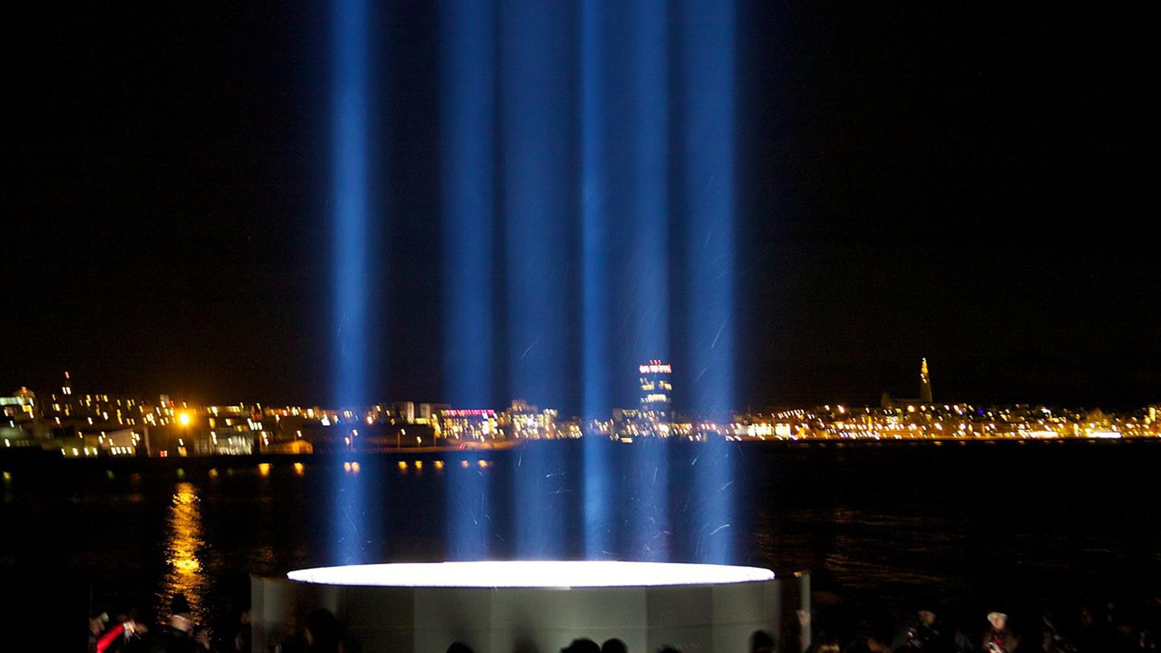 Imagine Peace Tower (McKay Savage / Flickr)