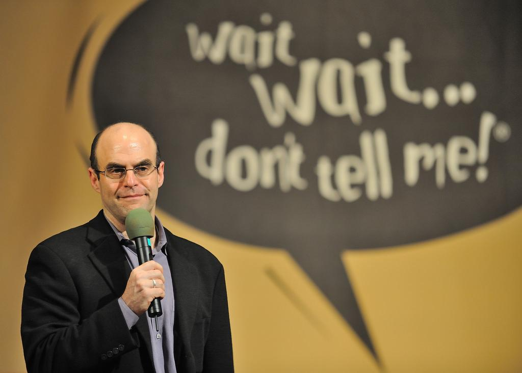 "Don't wait too long for your spot at a free taping of ""Wait Wait … Don't Tell Me!"" (JanetandPhil / Flickr)"