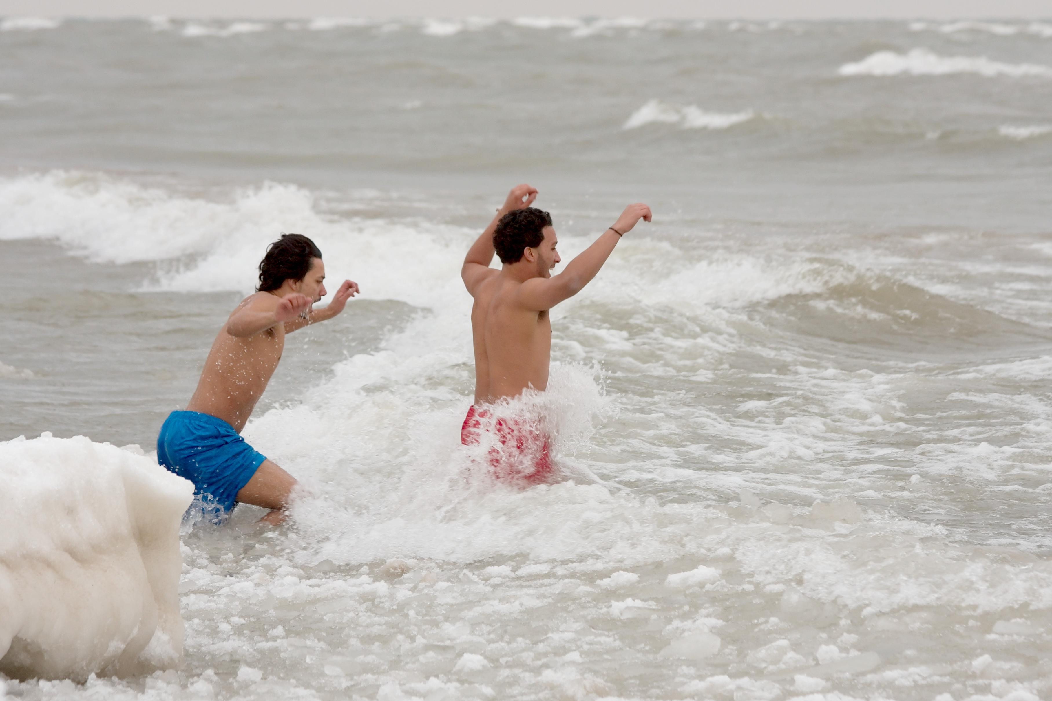 Test your Midwestern ability to withstand the cold at the 17th Chicago Polar Plunge. (Dori / Wikimedia Commons)