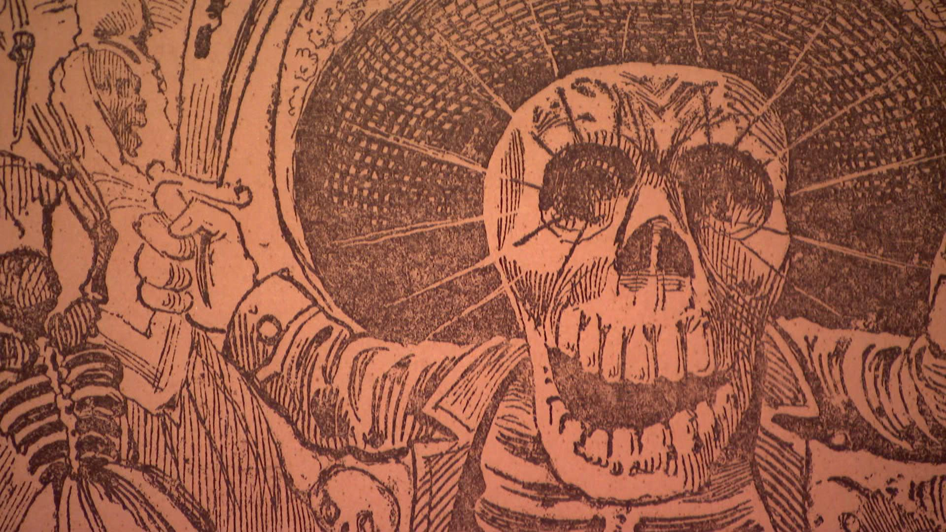 Exhibit Digs Up Satire And Skeletons Of Legendary Printmaker