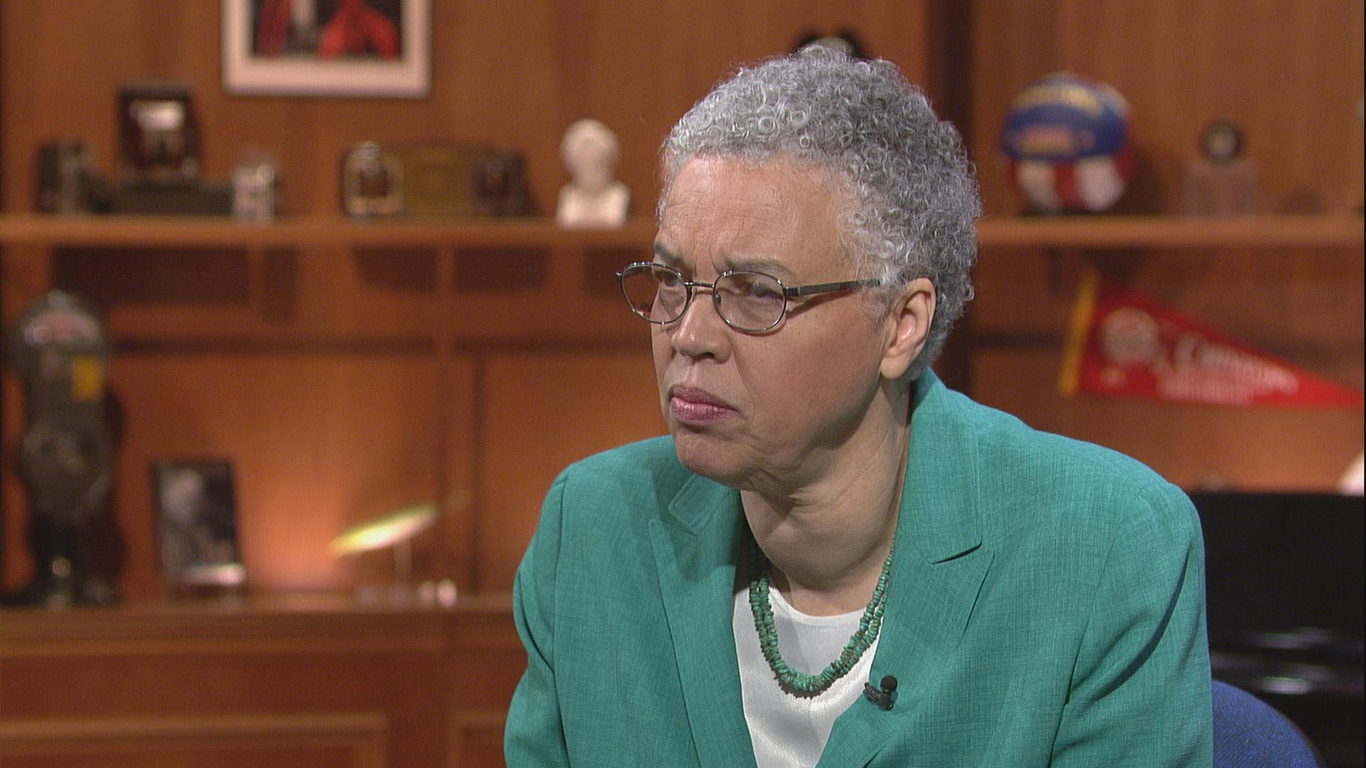 Cook County Board President Toni Preckwinkle appears on Chicago Tonight on June 22.