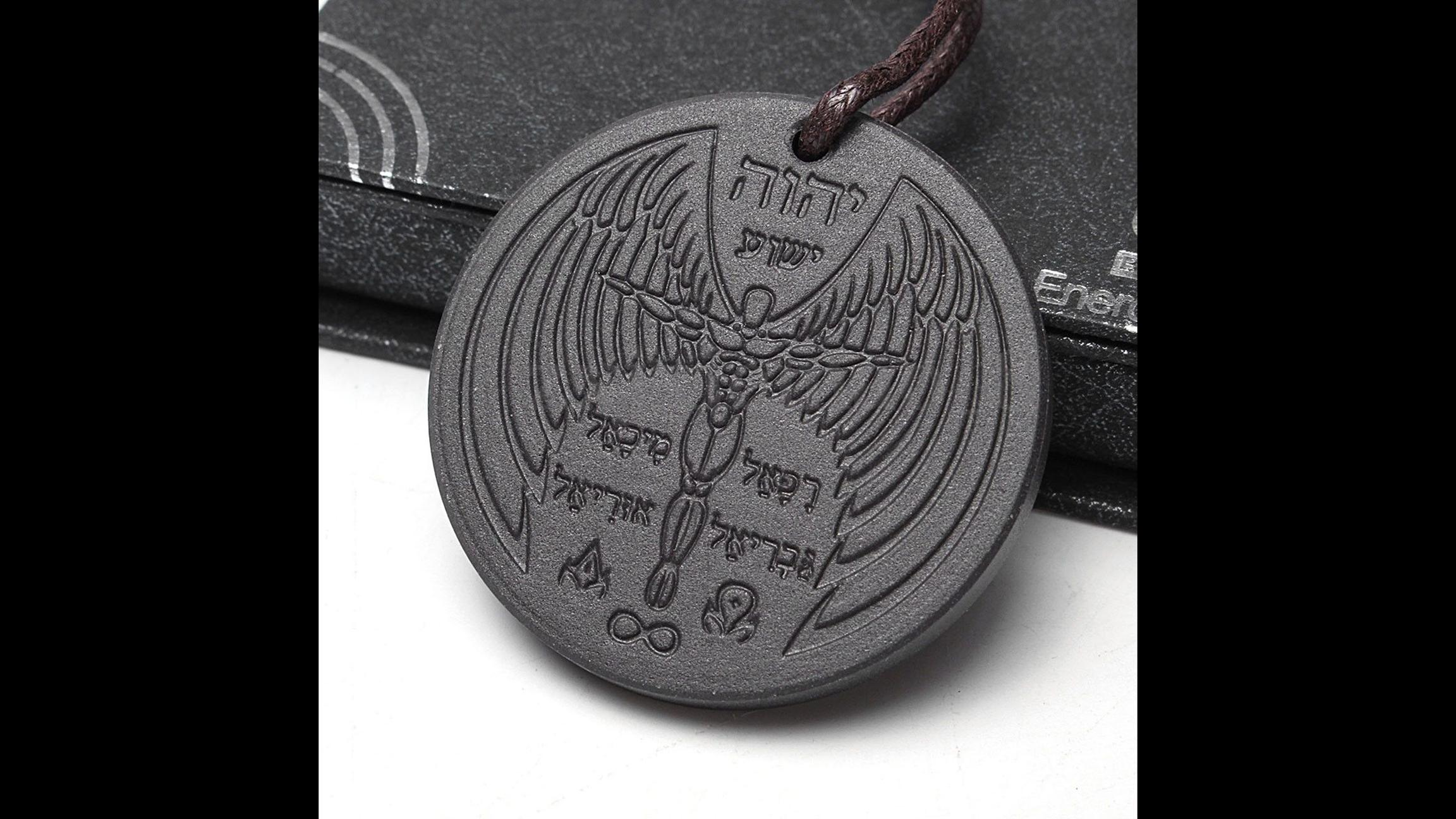 State agency finds trace amounts of radioactive materials in a quantum science power scalar energy pendant for sale on ebay aloadofball Choice Image