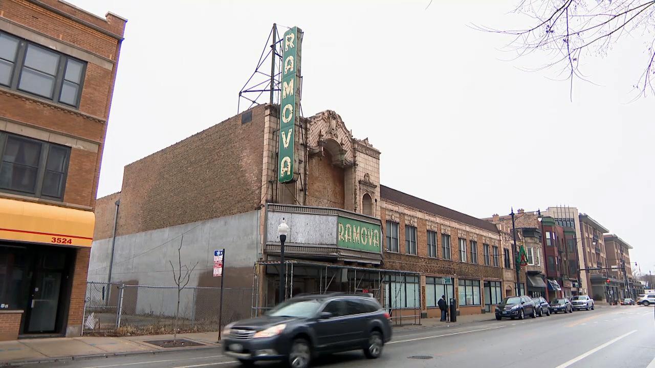 The Ramova Theater in January 2020 (WTTW News)