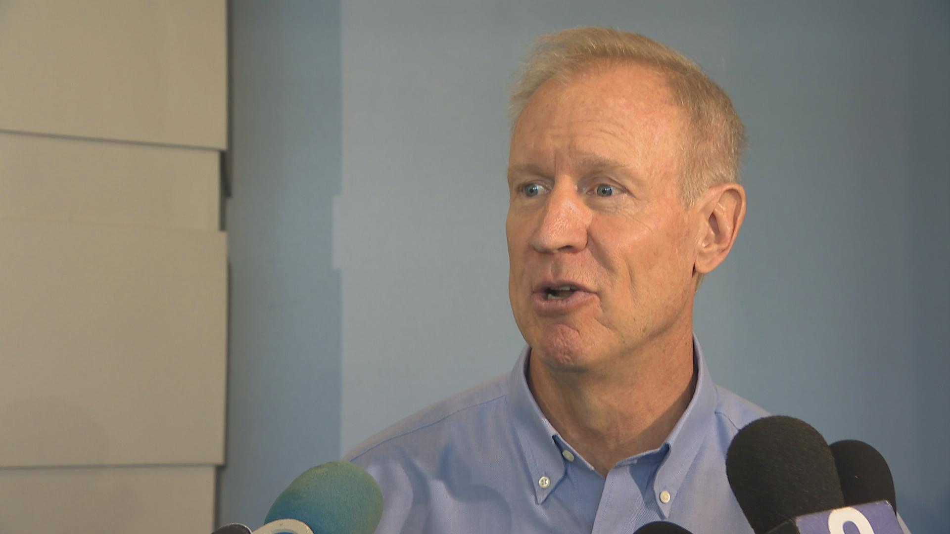 "Gov. Bruce Rauner: ""I hope he's been doing something illegal and I hope he gets prosecuted."""