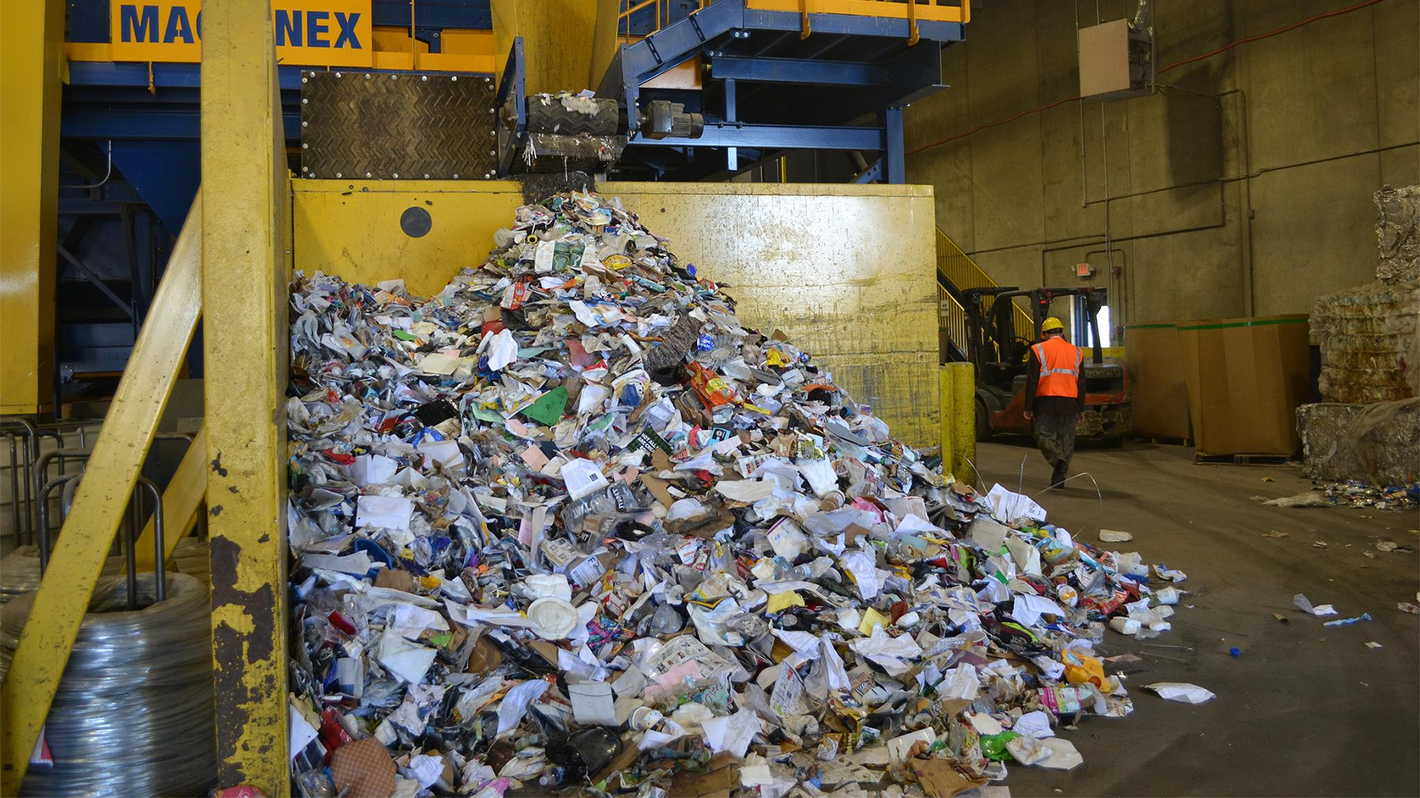 Where does all the recycled paper go