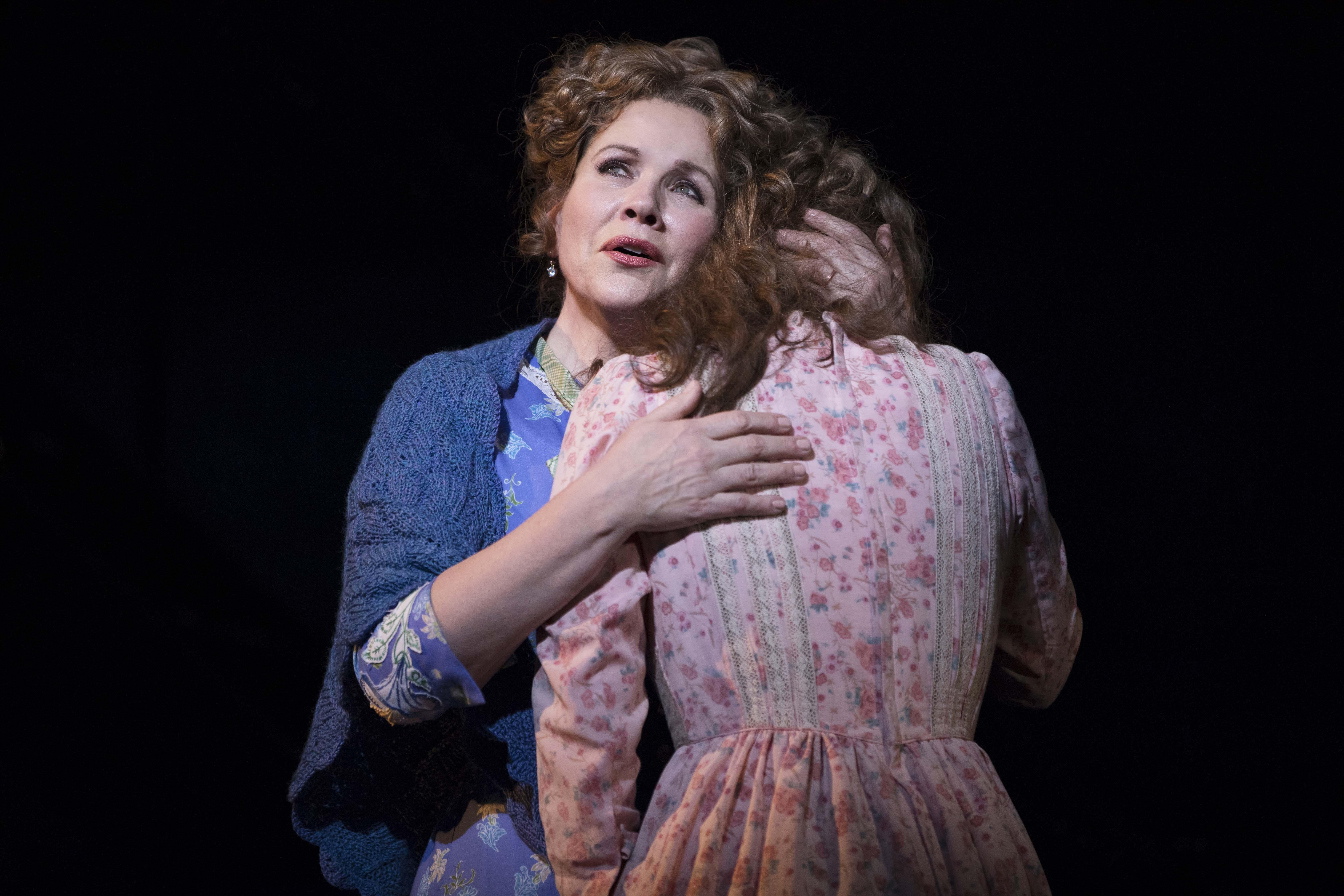 "Renee Fleming and Jessie Mueller in ""Carousel."" (Credit: Julieta Cervantes)"