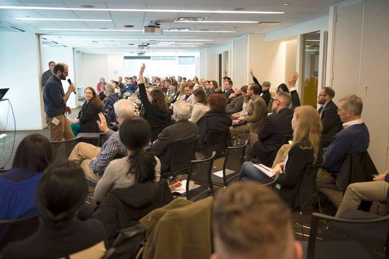 More than 100 people attended the annual Chicago River Summit on Wednesday, March 7. (Courtesy Friends of the Chicago River)