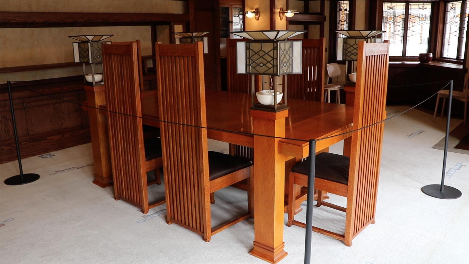 Frank lloyd wright s robie house reopens after massive - Frank lloyd wright style ...
