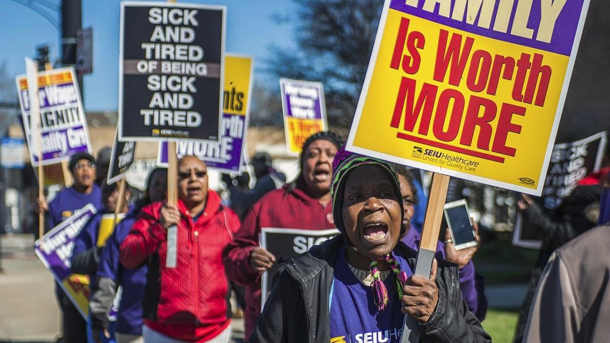 Nursing Home Workers Strike Averted in Final Hours | Chicago News | WTTW
