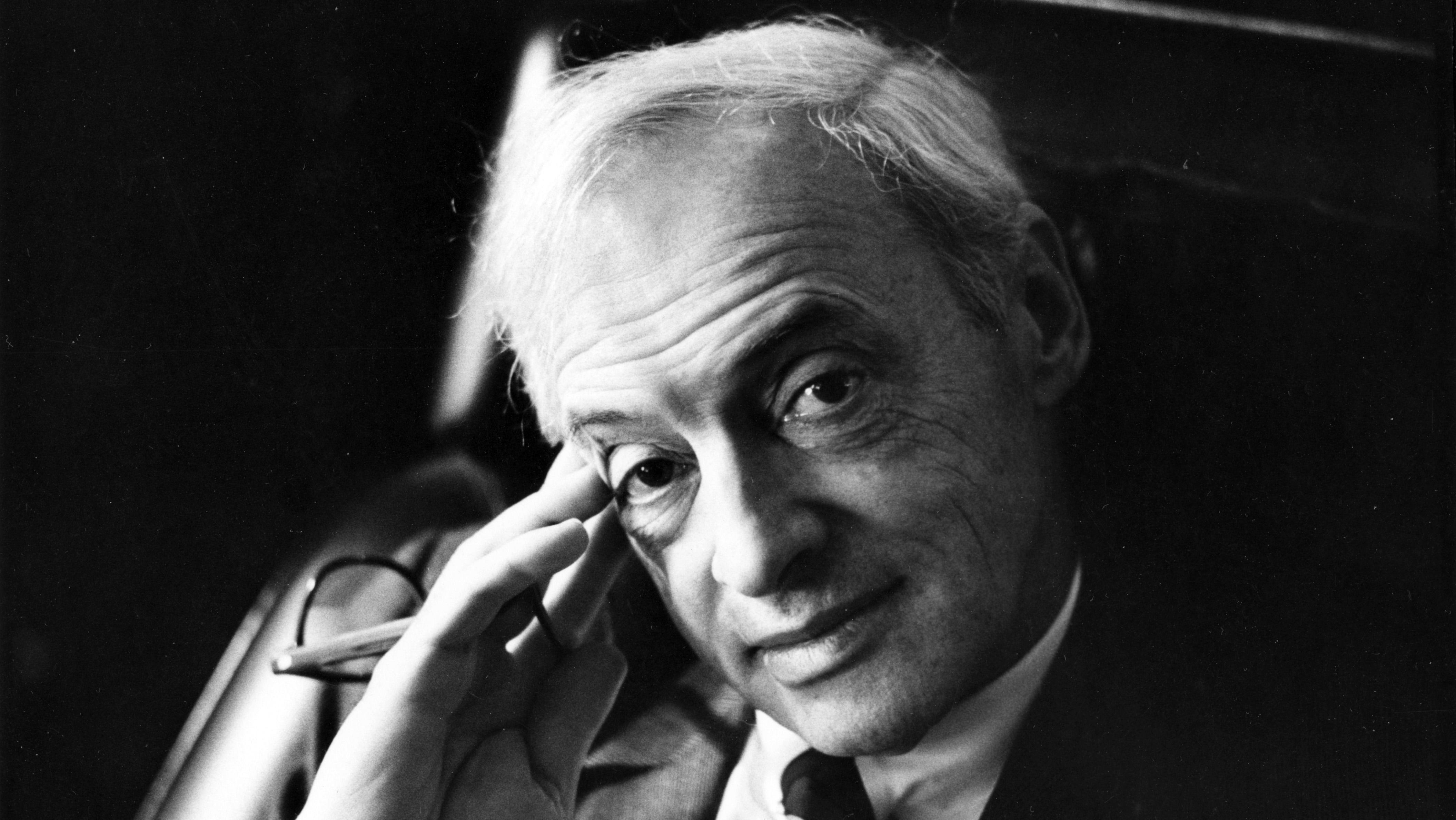 Nobel laureate Saul Bellow's papers are now available at the University of Chicago's library. (Courtesy of University of Chicago Special Collections Research Center)