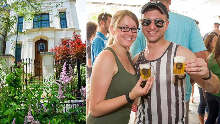 From flowers to brews, this weekend's Sheffield Garden Walk and Craft Beer Fest are all about the bouquets. (Courtesy Special Events Management)