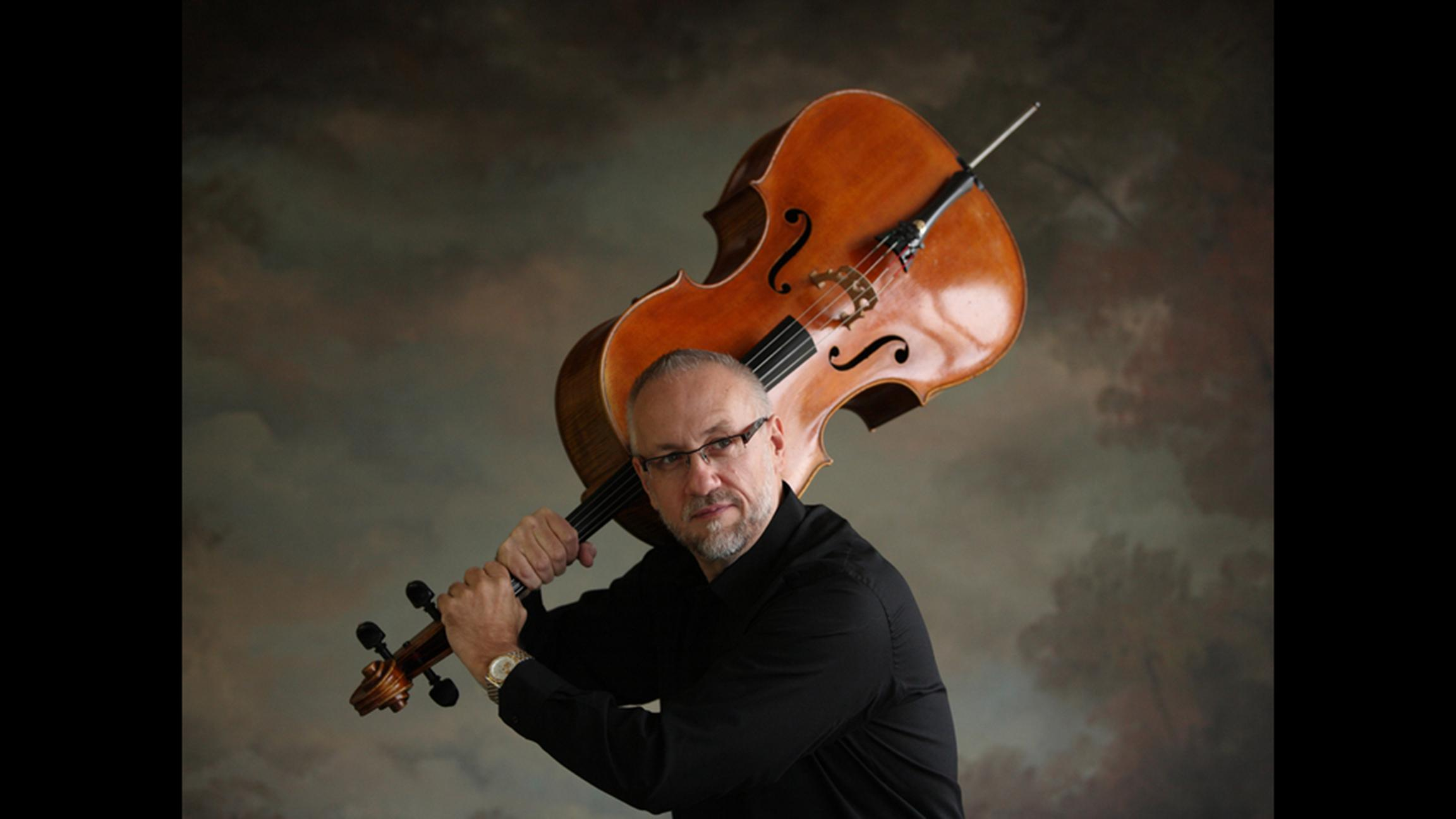 Cellist Steven Houser classes up the standard brunch plans this weekend. (Courtesy of The Chicago Philharmonic Society)