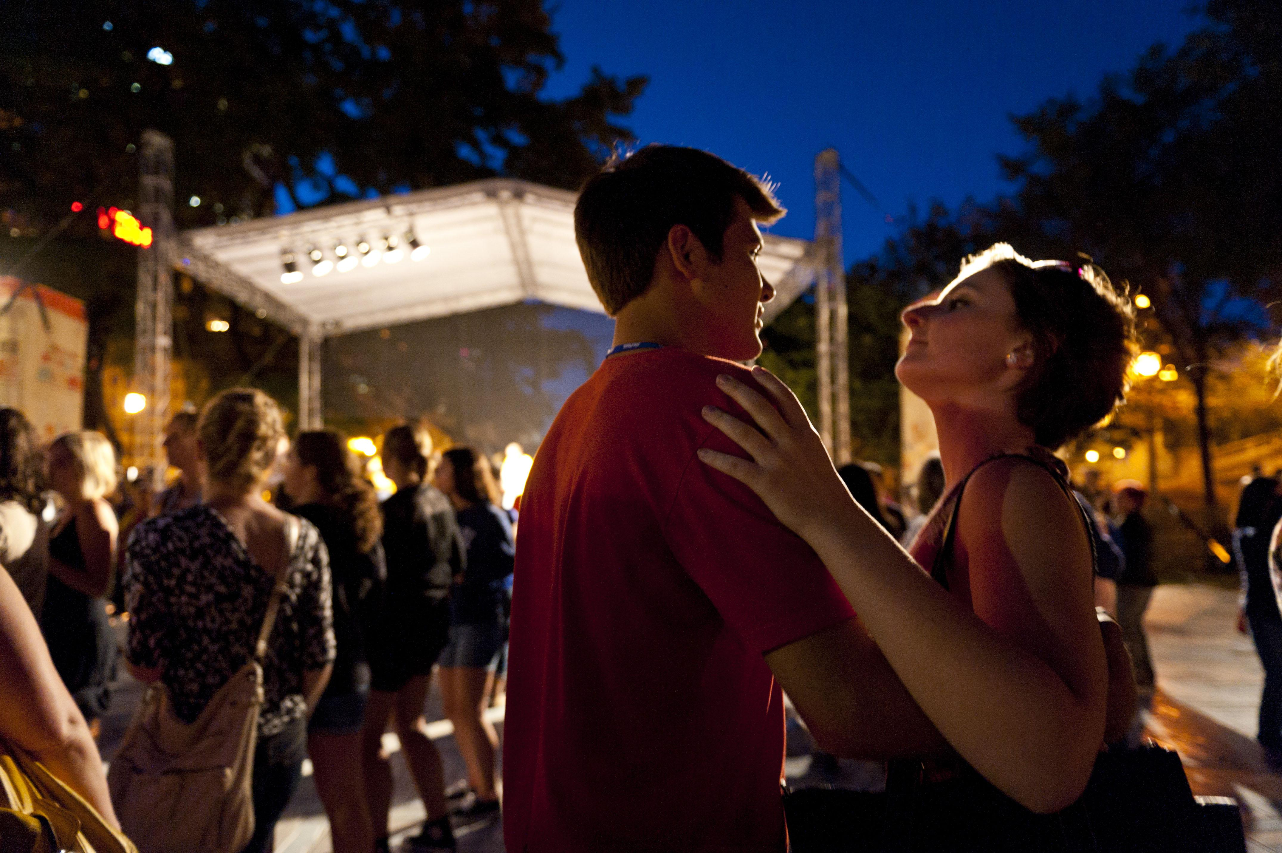 Grab a dance partner for the city's annual SummerDance festival through Sept. 11. (Courtesy City of Chicago)