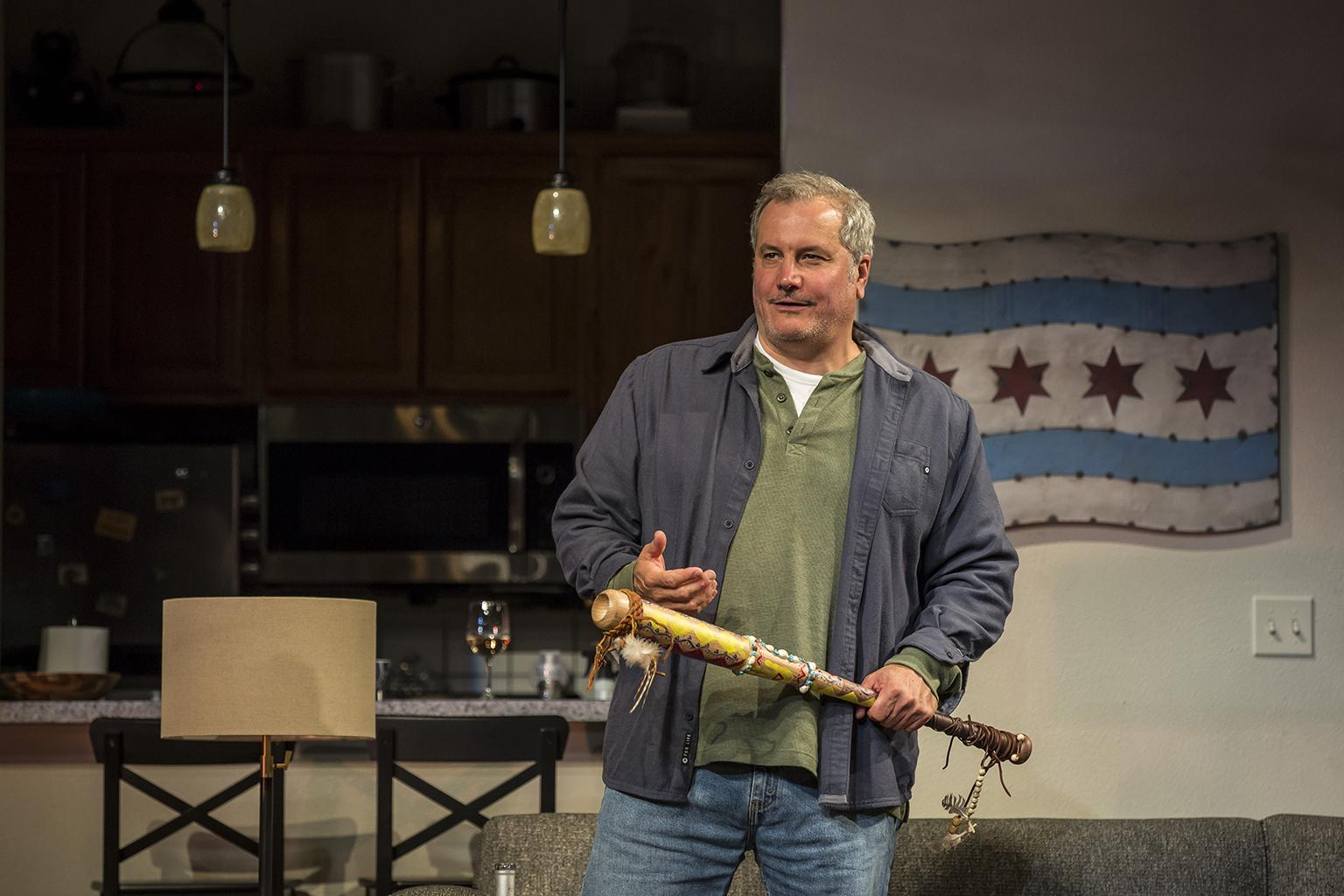 "Keith Kupferer in ""Support Group for Men."" (Photo credit: Liz Lauren)"