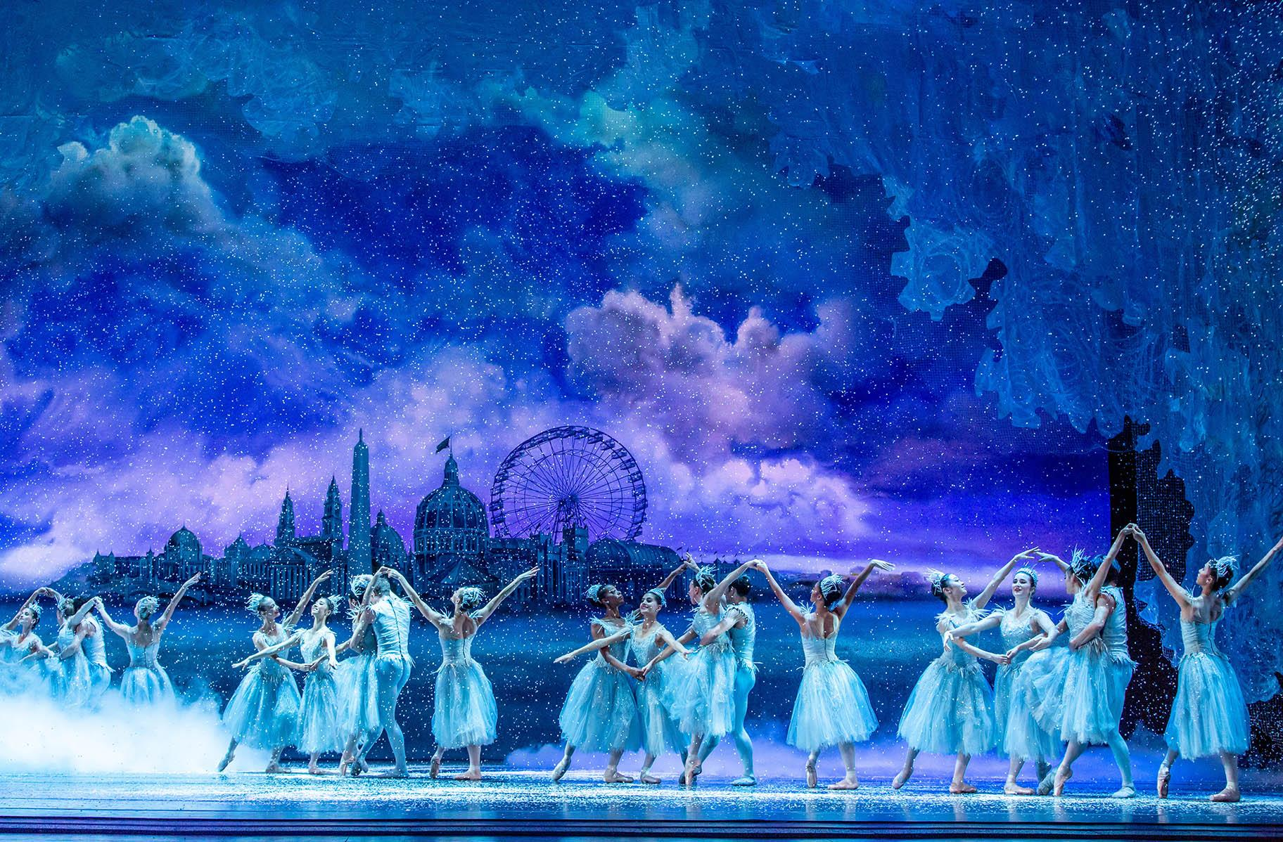 "The Joffrey Ballet production of ""The Nutcracker."" (Photo by Cheryl Mann)"