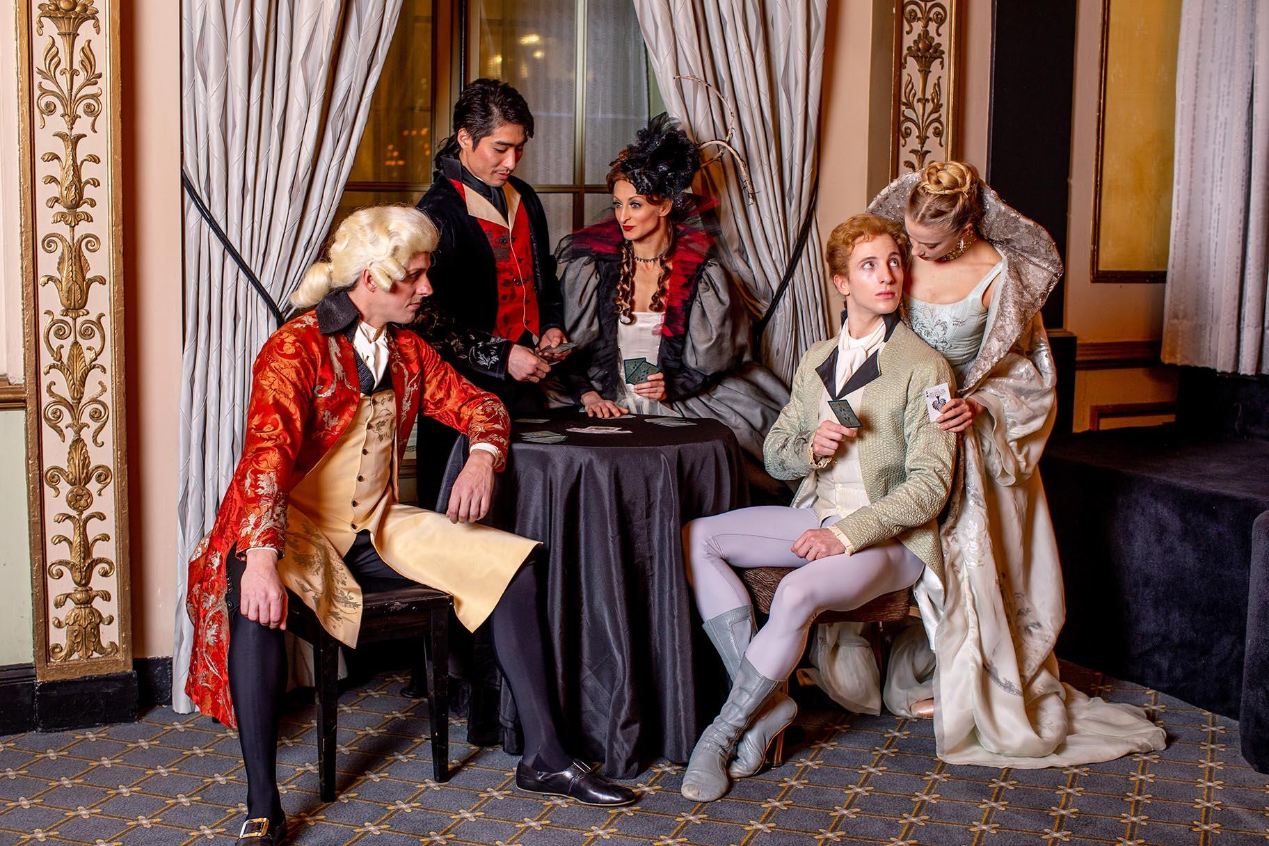 "The Joffrey Ballet in a promotional photo for ""Manon."" (Photo by Cheryl Mann)"