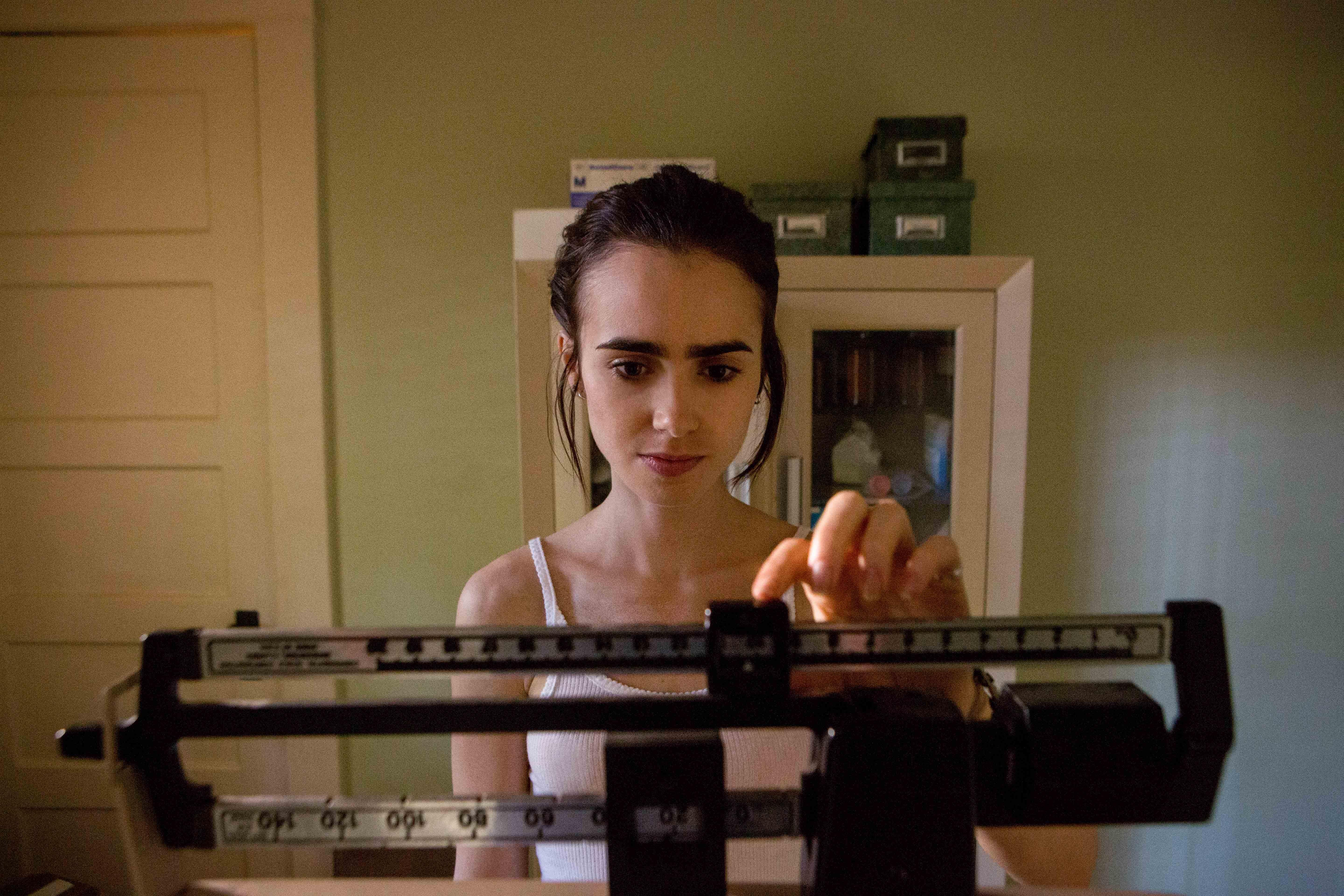 "The recently released Netflix film ""To The Bone"" follows 20-year-old Ellen's experience with anorexia nervosa as she seeks treatment in a group home for youths. (Gilles Mingasson / Netflix)"