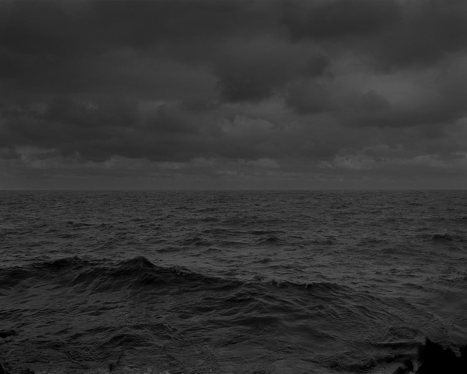 "Dawoud Bey. ""Untitled #25 (Lake Erie and Sky),"" from the series ""Night Coming Tenderly, Black,"" 2017. Rennie Collection, Vancouver. © Dawoud Bey."