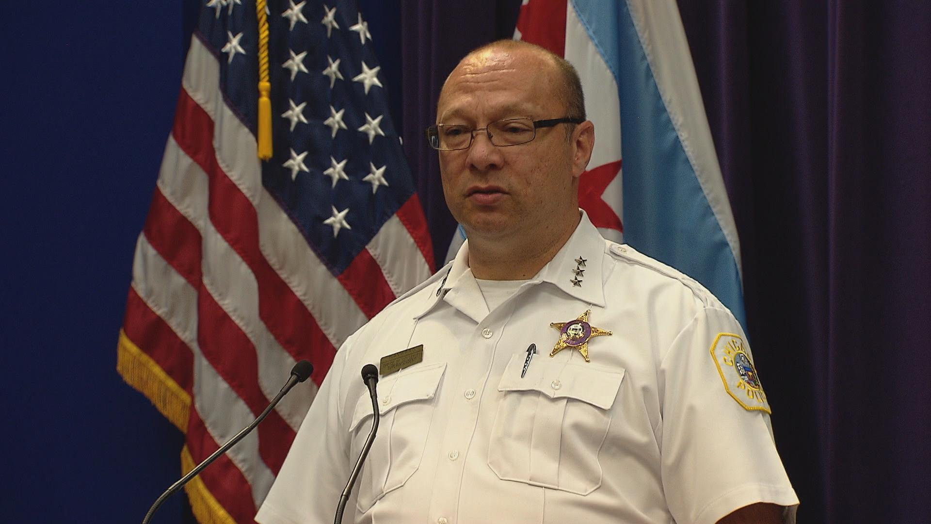 Chicago Police First Deputy Superintendent Kevin Navarro