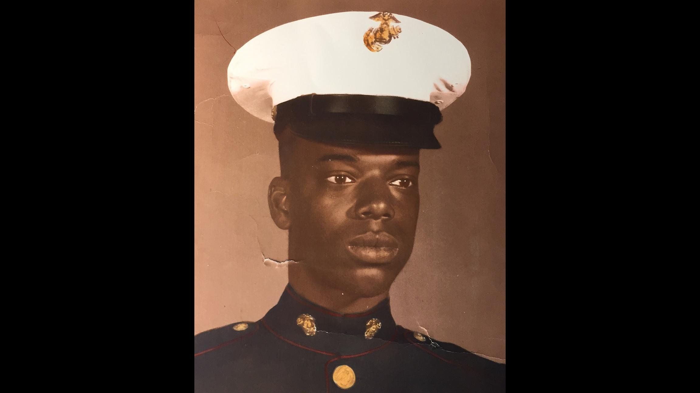 Herschel Embry served in the 3rd Marine Division in South Vietnam near the demilitarized zone. (Courtesy of Herschel Embry)