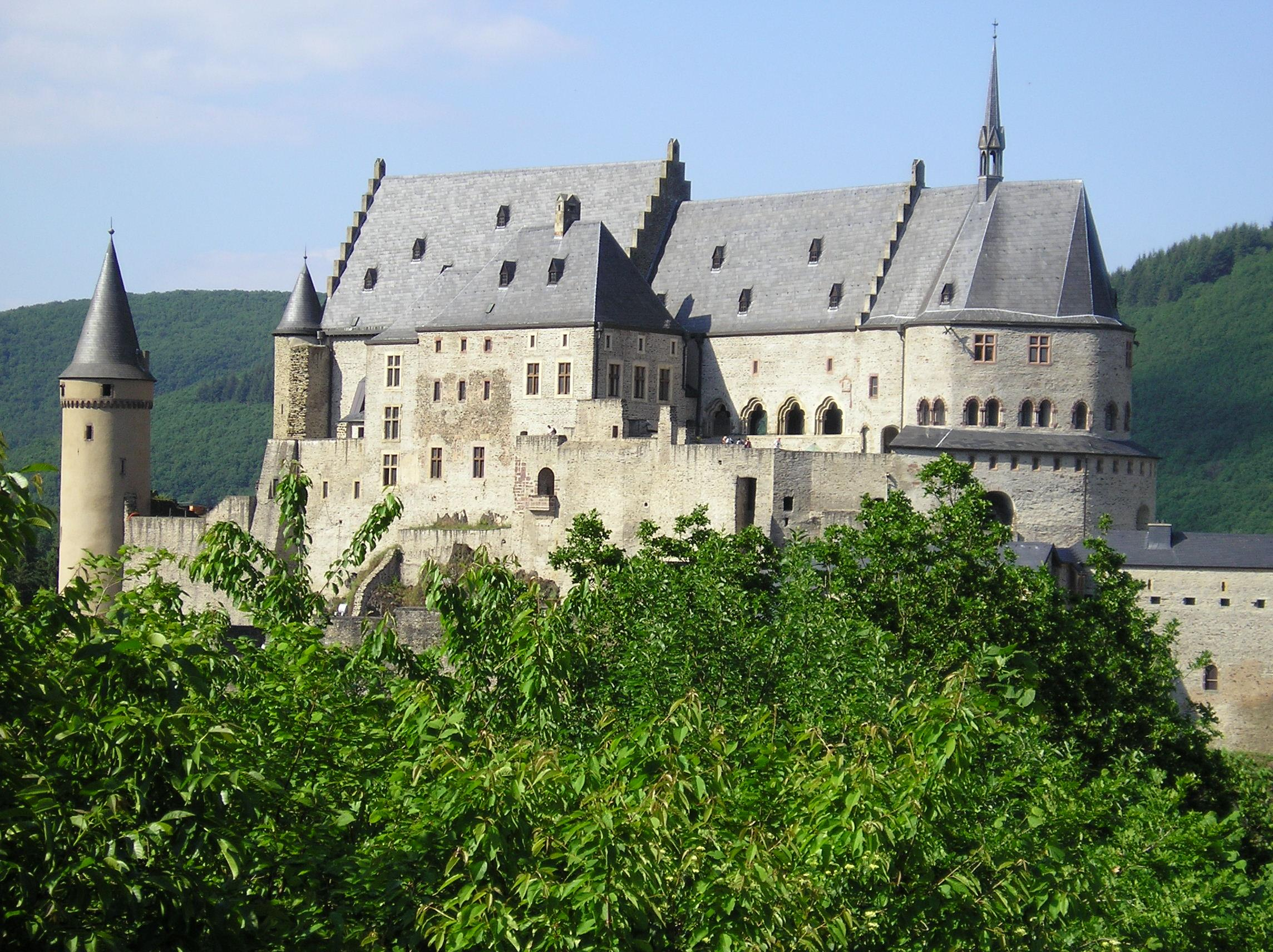 The Vianden Castle