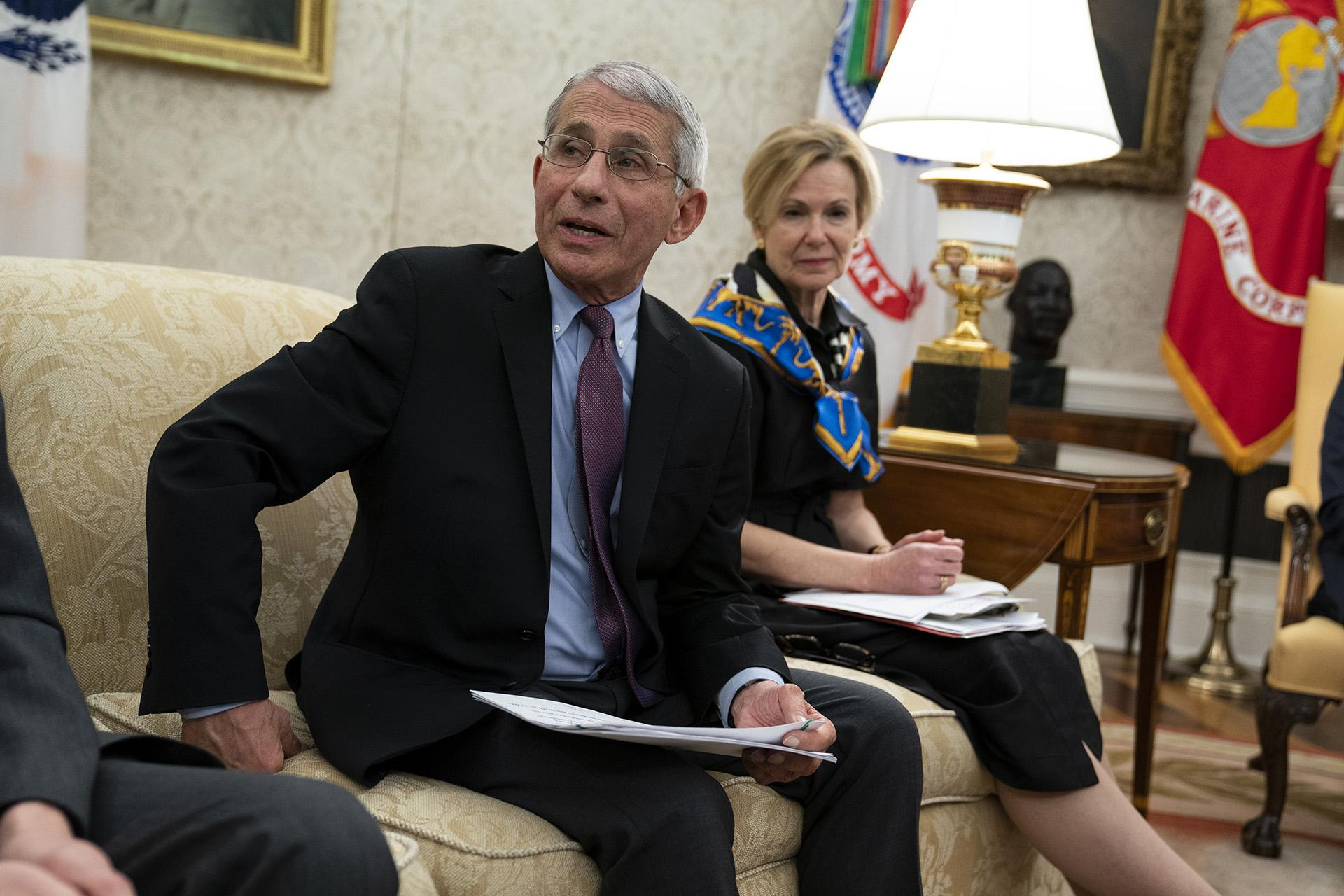White House blocks Fauci from testifying to Congress