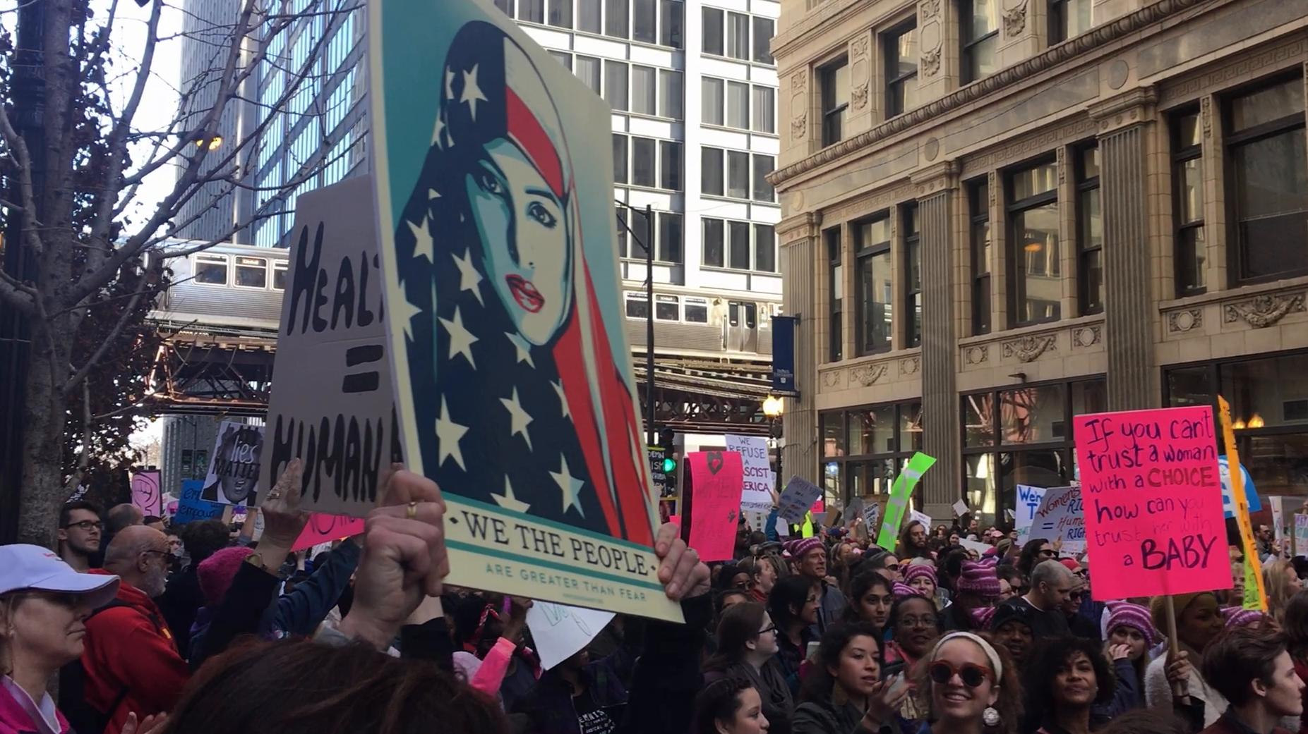 Image result for women's march banner