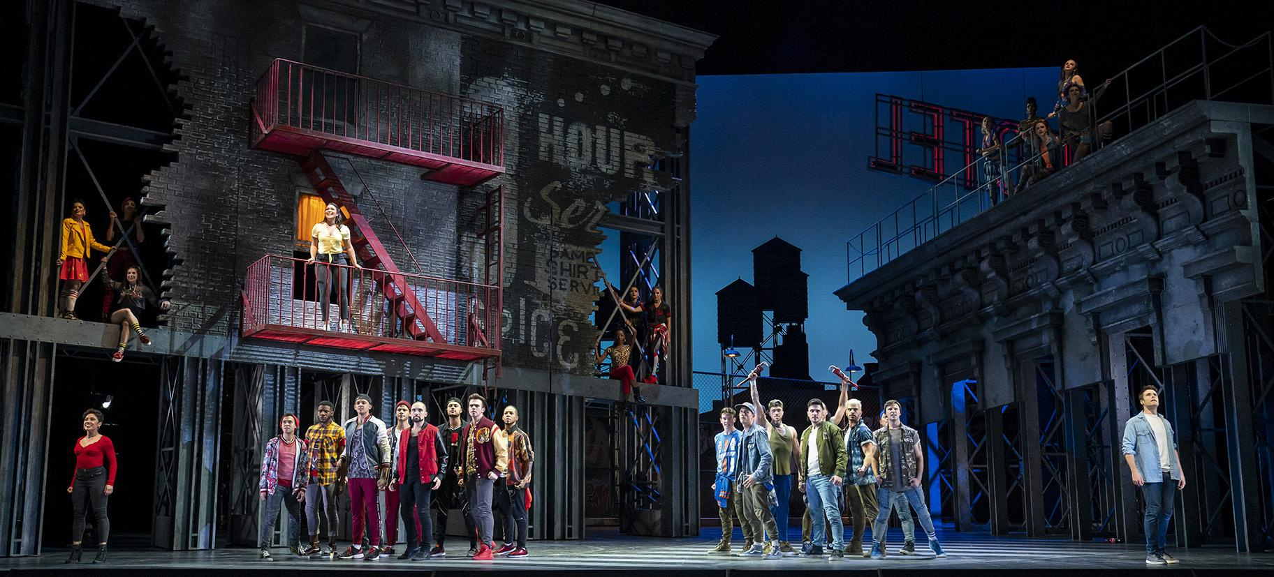 """West Side Story"" at Lyric Opera of Chicago. (Photo credit: Todd Rosenberg)"