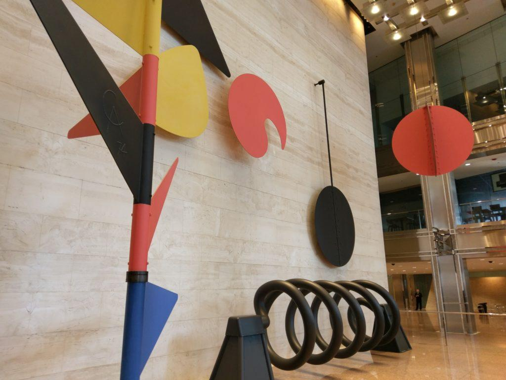 "Alexander Calder, ""The Universe"" (Courtesy of Ward Miller)"