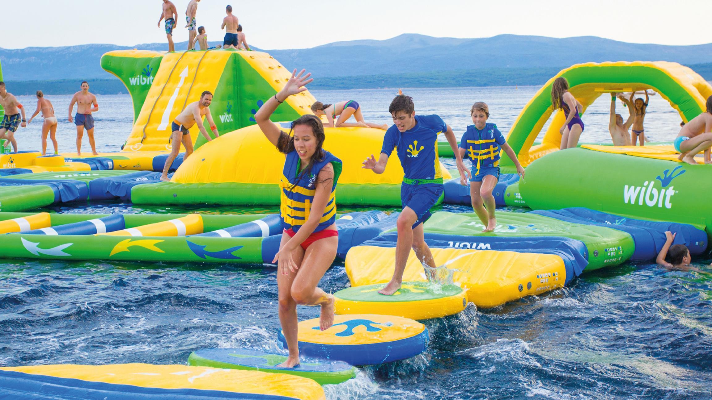 Lake Michigan S First Floating Water Park To Open In Mid