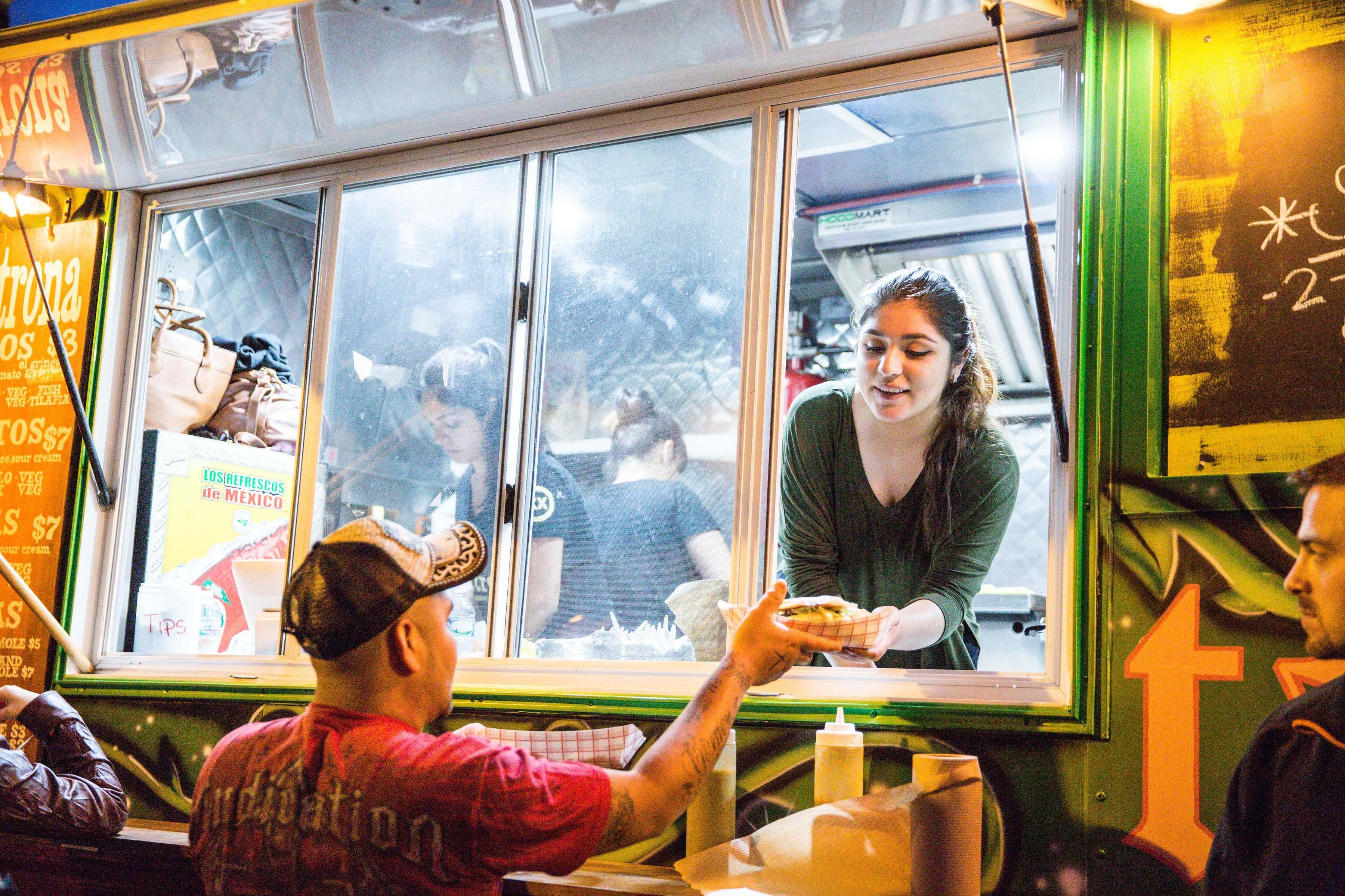 Stock up on snacks at the West Town Food Truck Social.