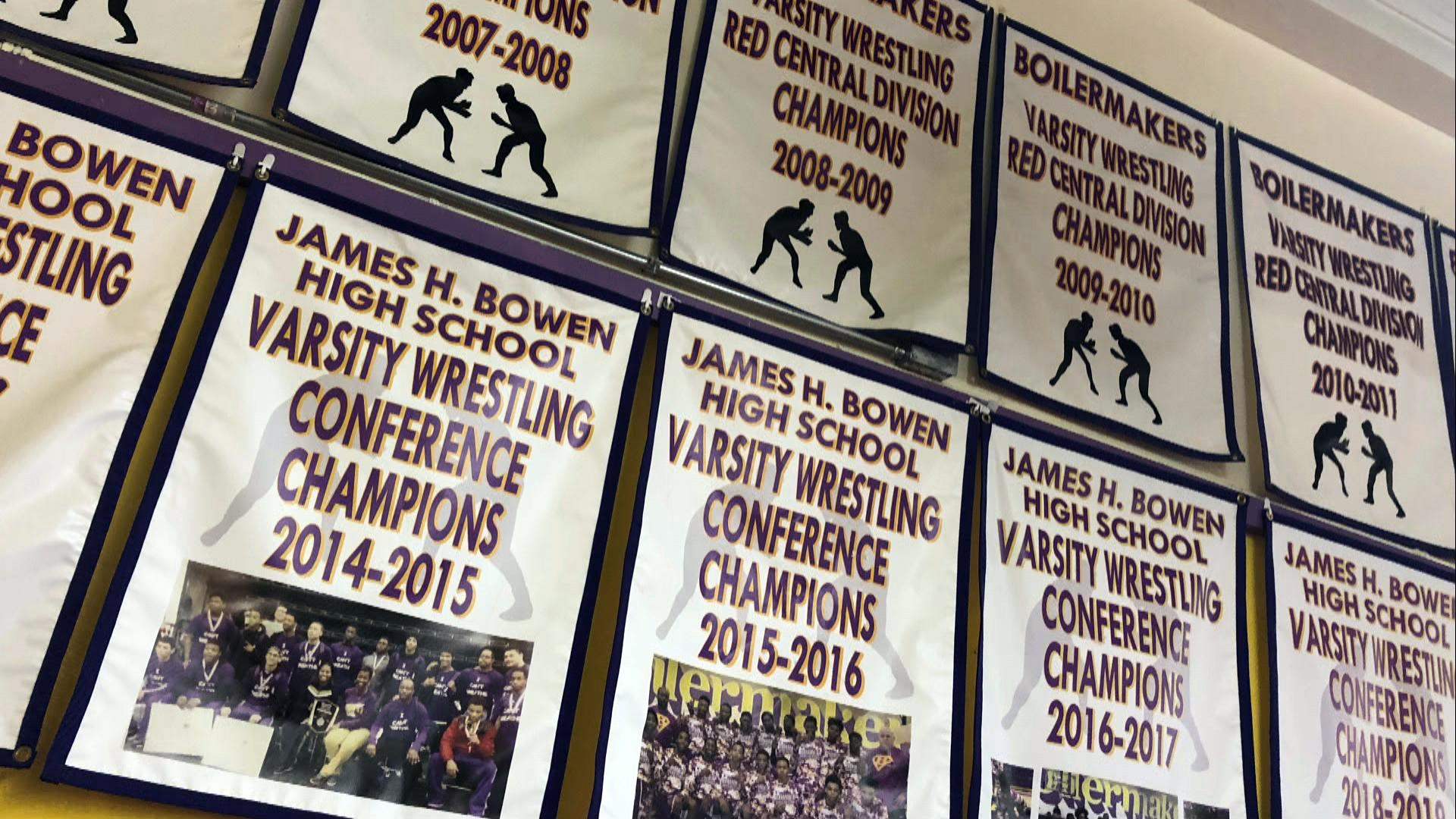 Wilson started Bowen's wrestling program and turned it into a powerhouse.