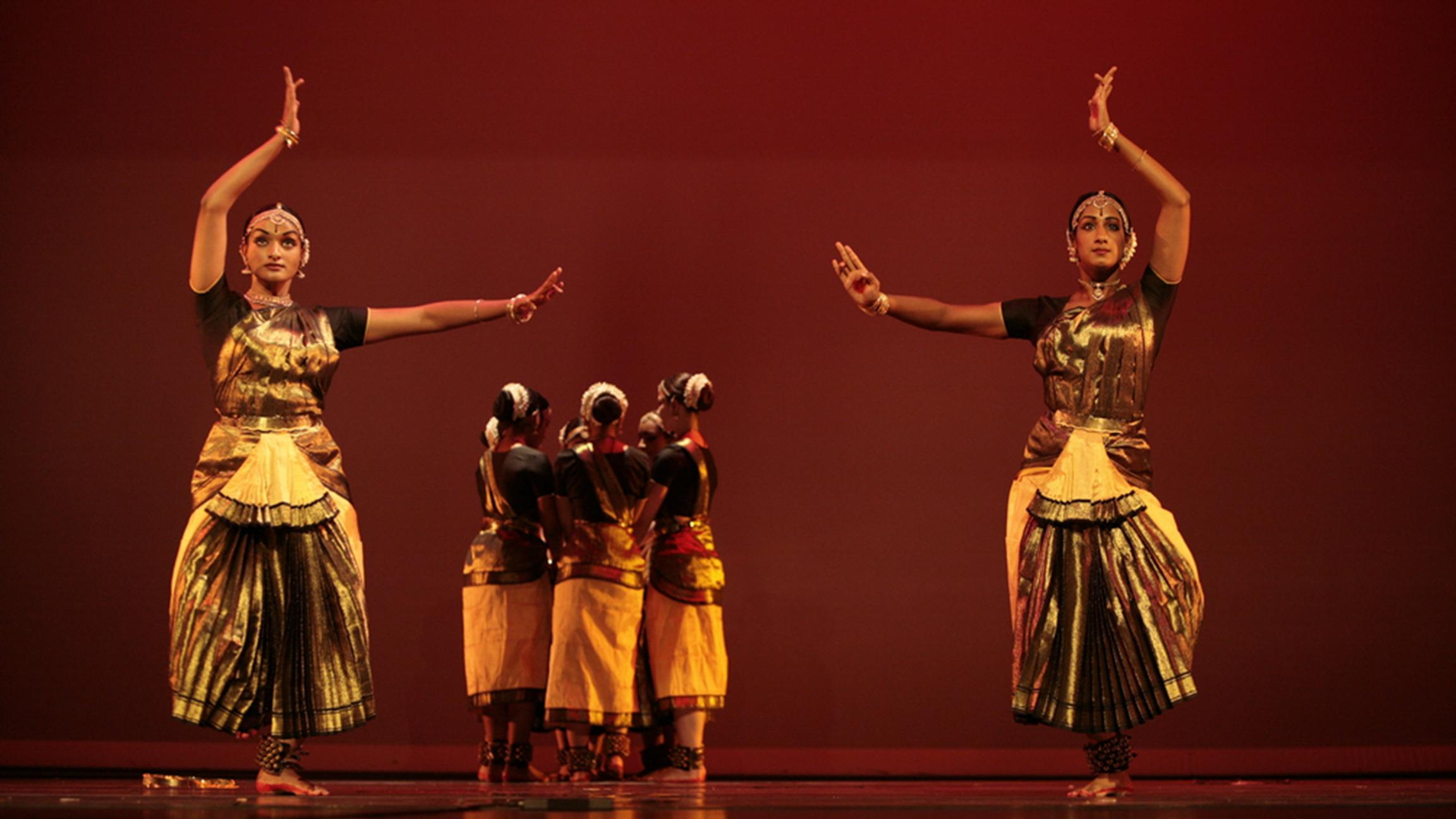 "Natya Dance Theatre's past production ""Shakti Chakra."" (Courtesy of Natya Dance Theatre)"