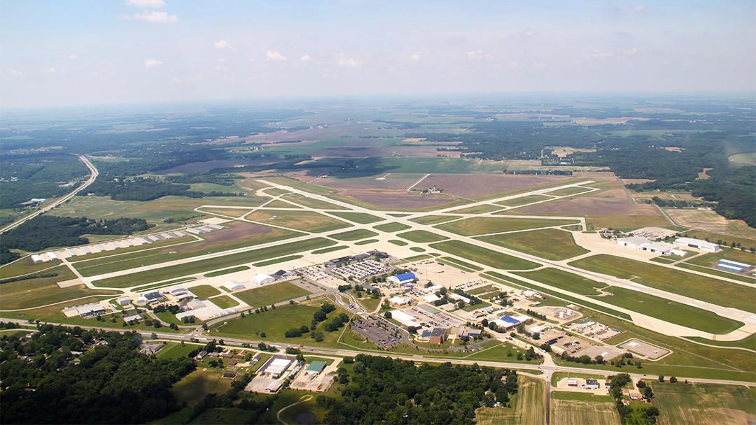 Abraham Lincoln Capital Airport in Springfield